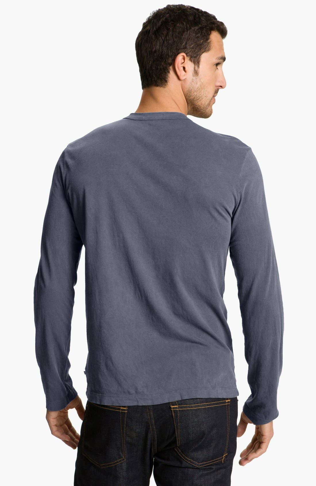 Long Sleeve Crewneck T-Shirt,                             Alternate thumbnail 51, color,