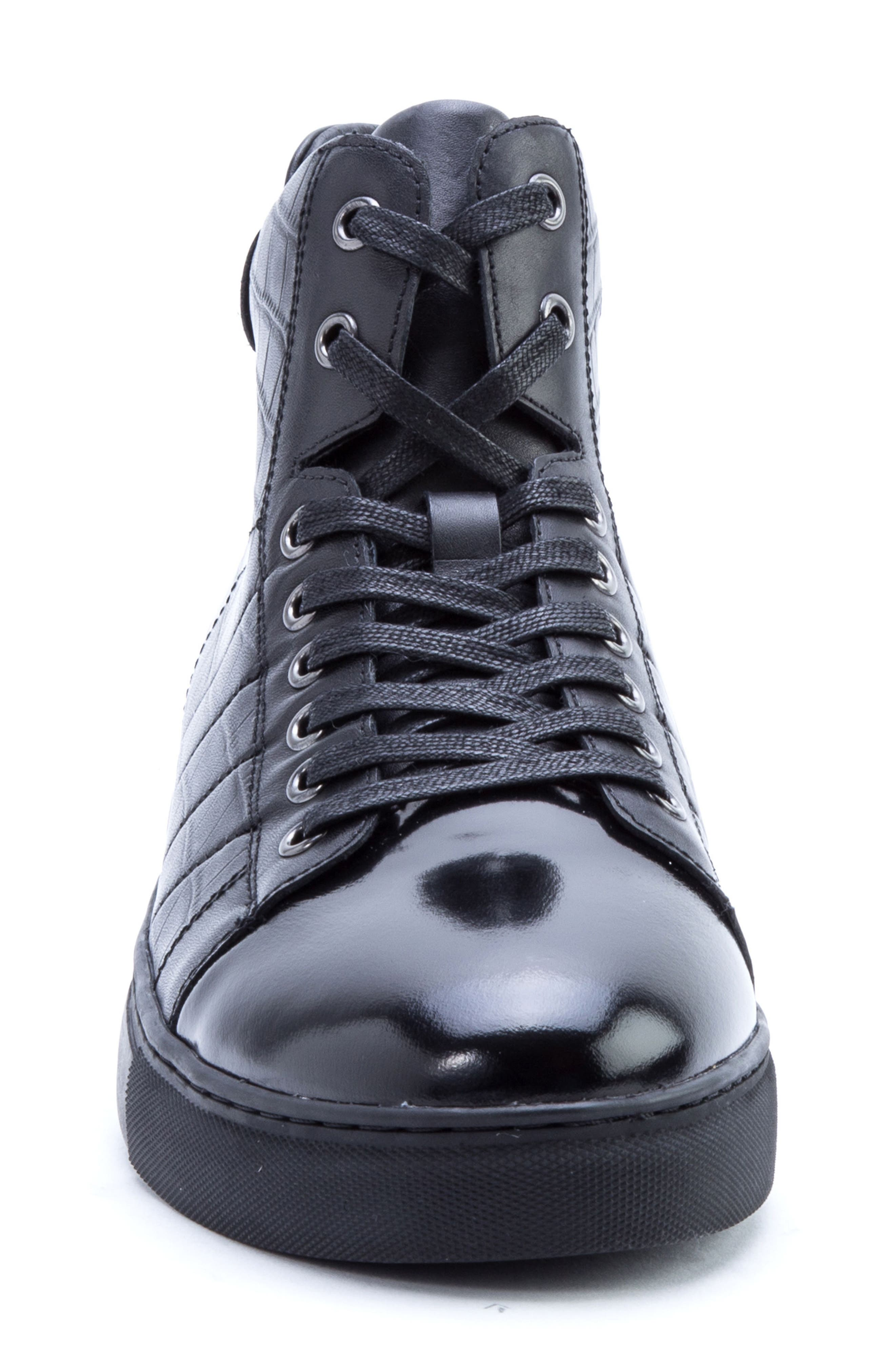 Clift High Top Sneaker,                             Alternate thumbnail 4, color,                             001