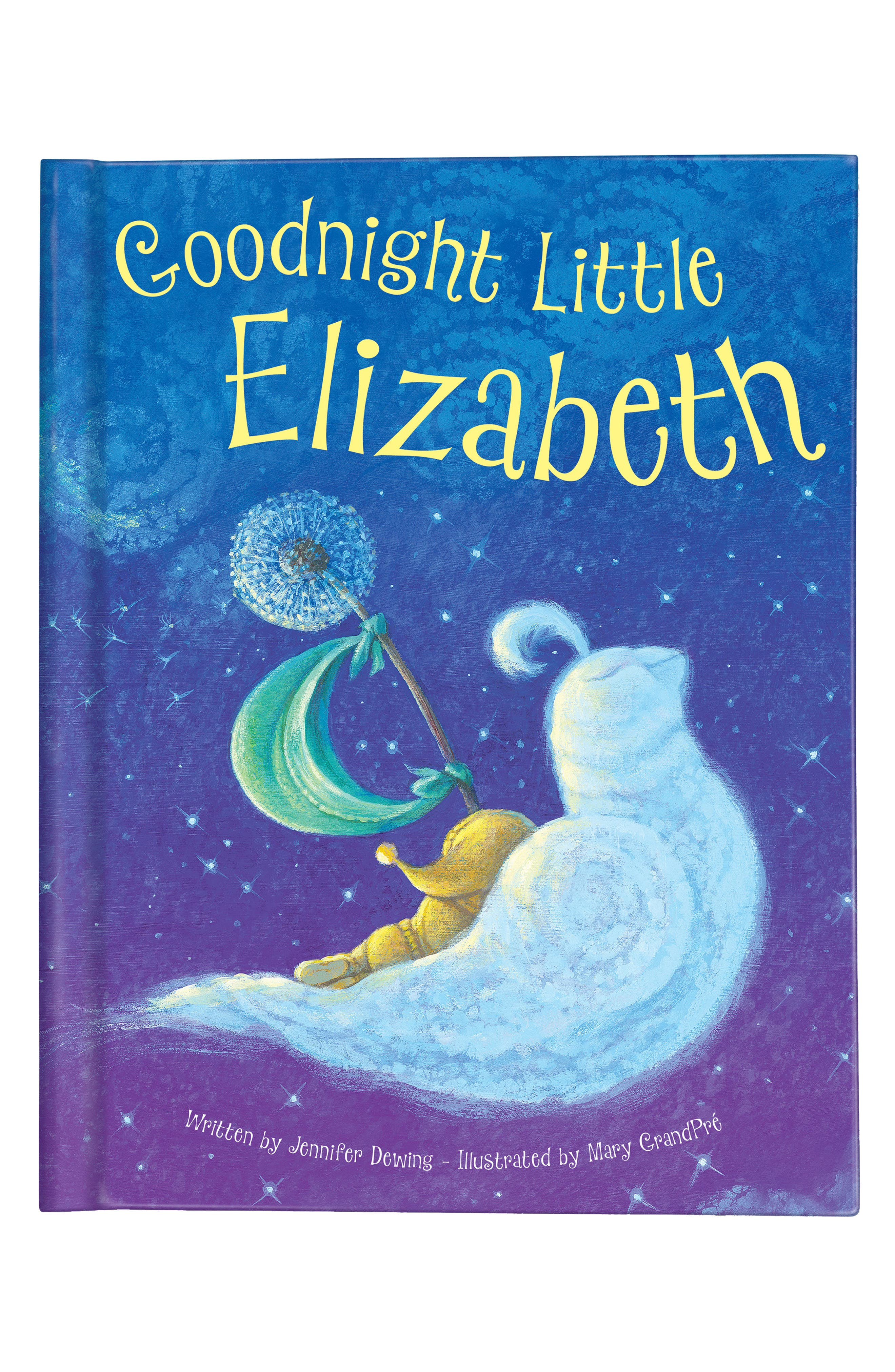 'Goodnight Little Me' Personalized Book,                         Main,                         color, BLUE