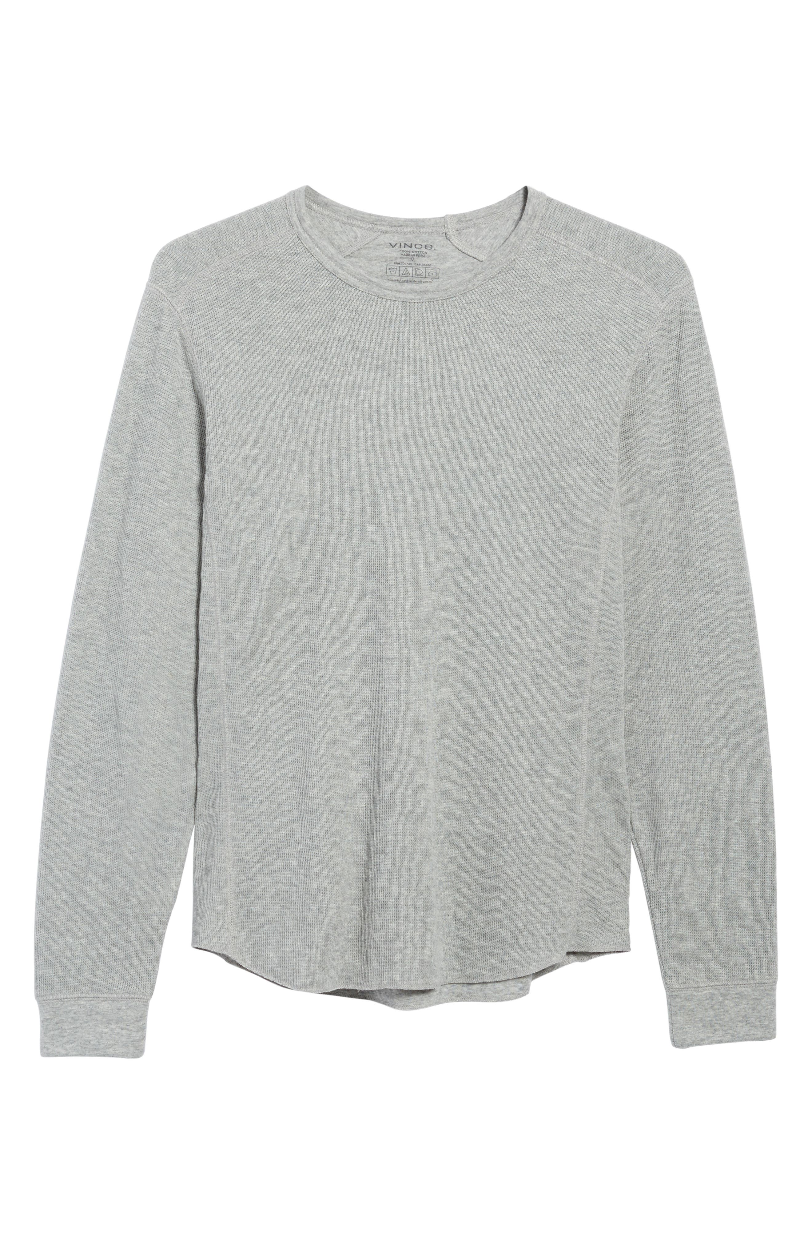 Double Knit Long Sleeve T-Shirt,                             Alternate thumbnail 27, color,