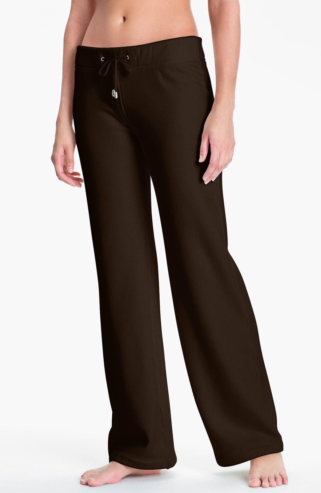 'Collins' Double Knit Pants,                             Main thumbnail 4, color,