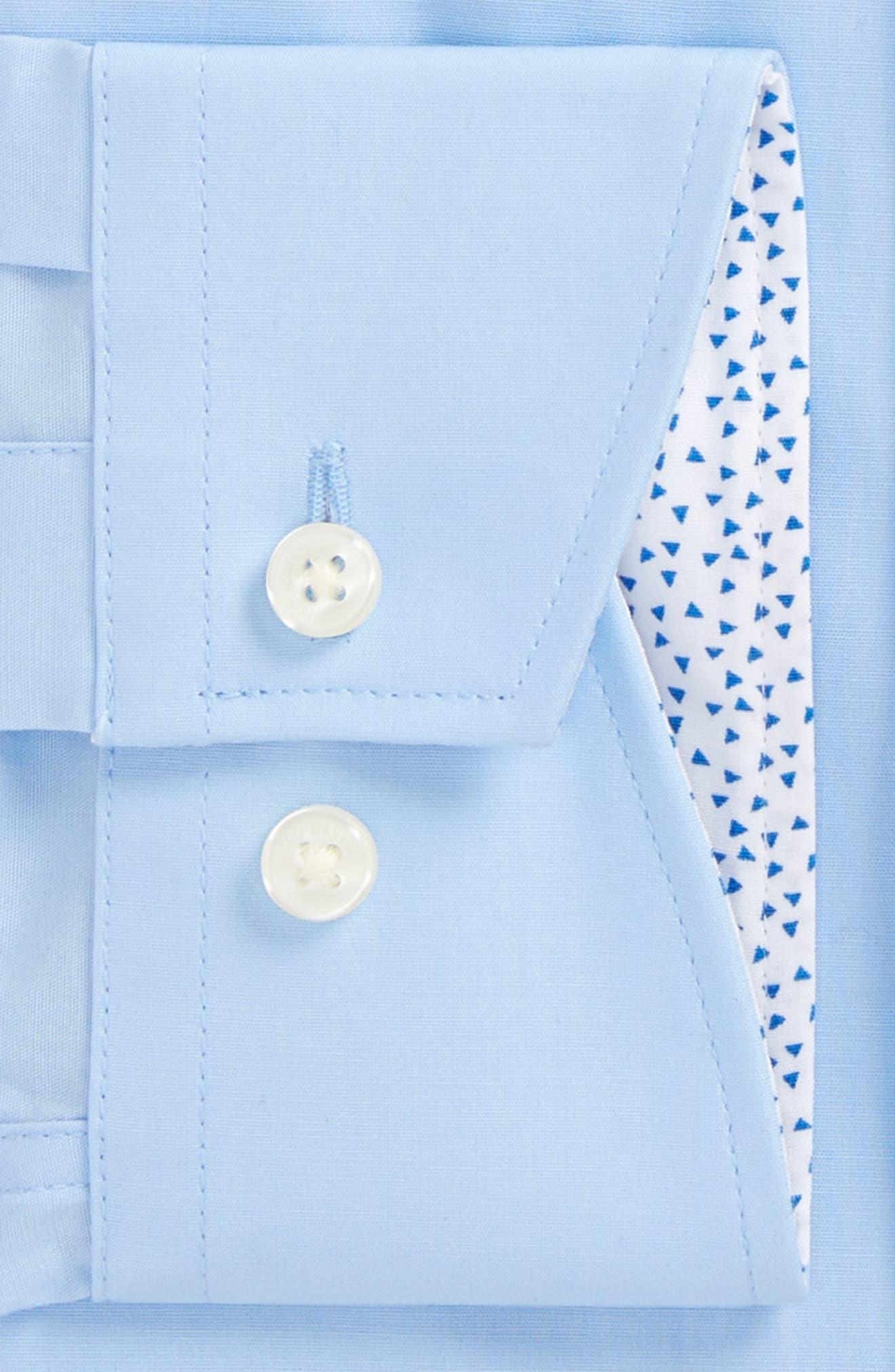 Booker Slim Fit Dress Shirt,                             Alternate thumbnail 6, color,
