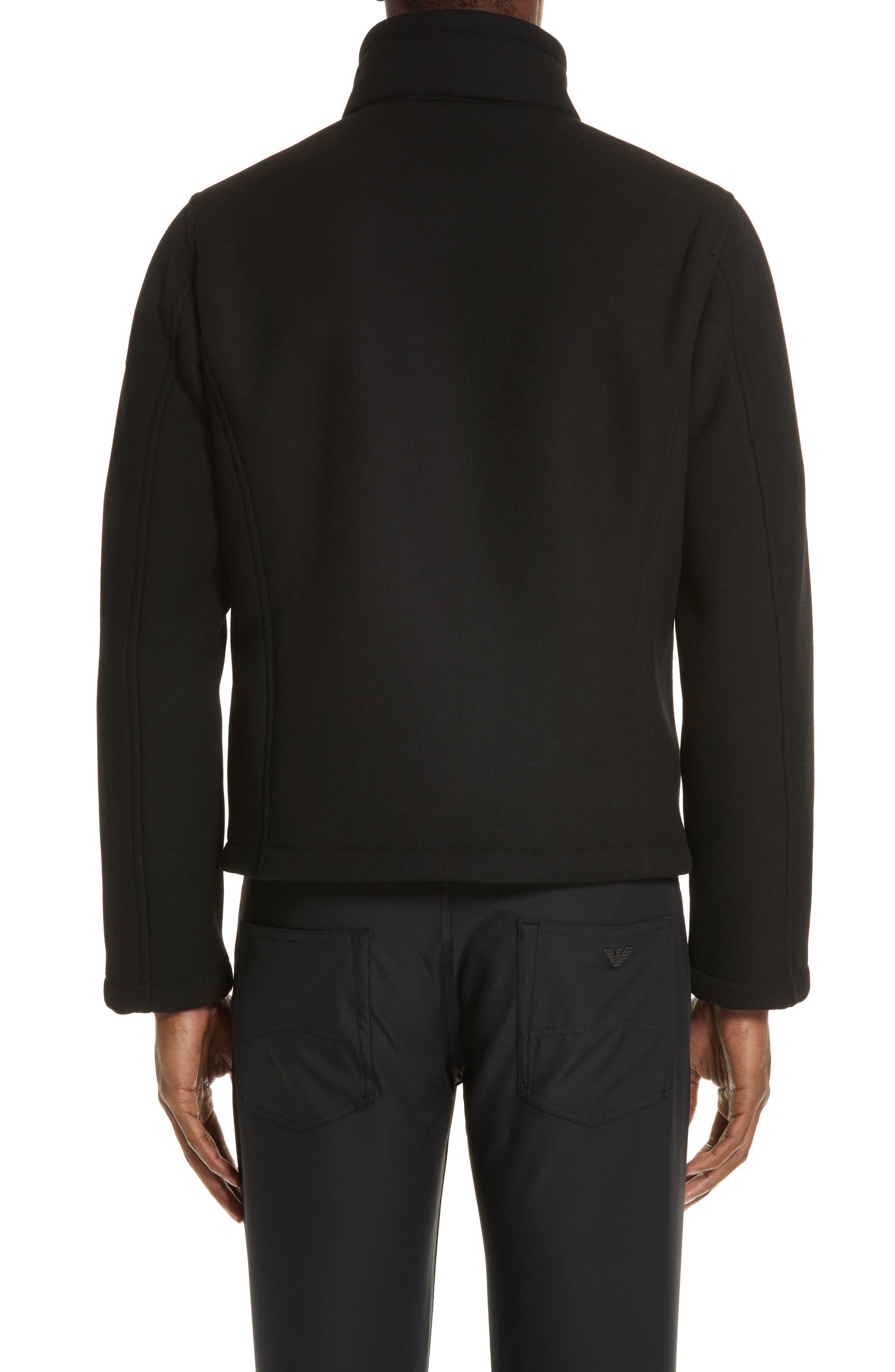 Broadcloth Down Jacket,                             Alternate thumbnail 2, color,                             BLACK