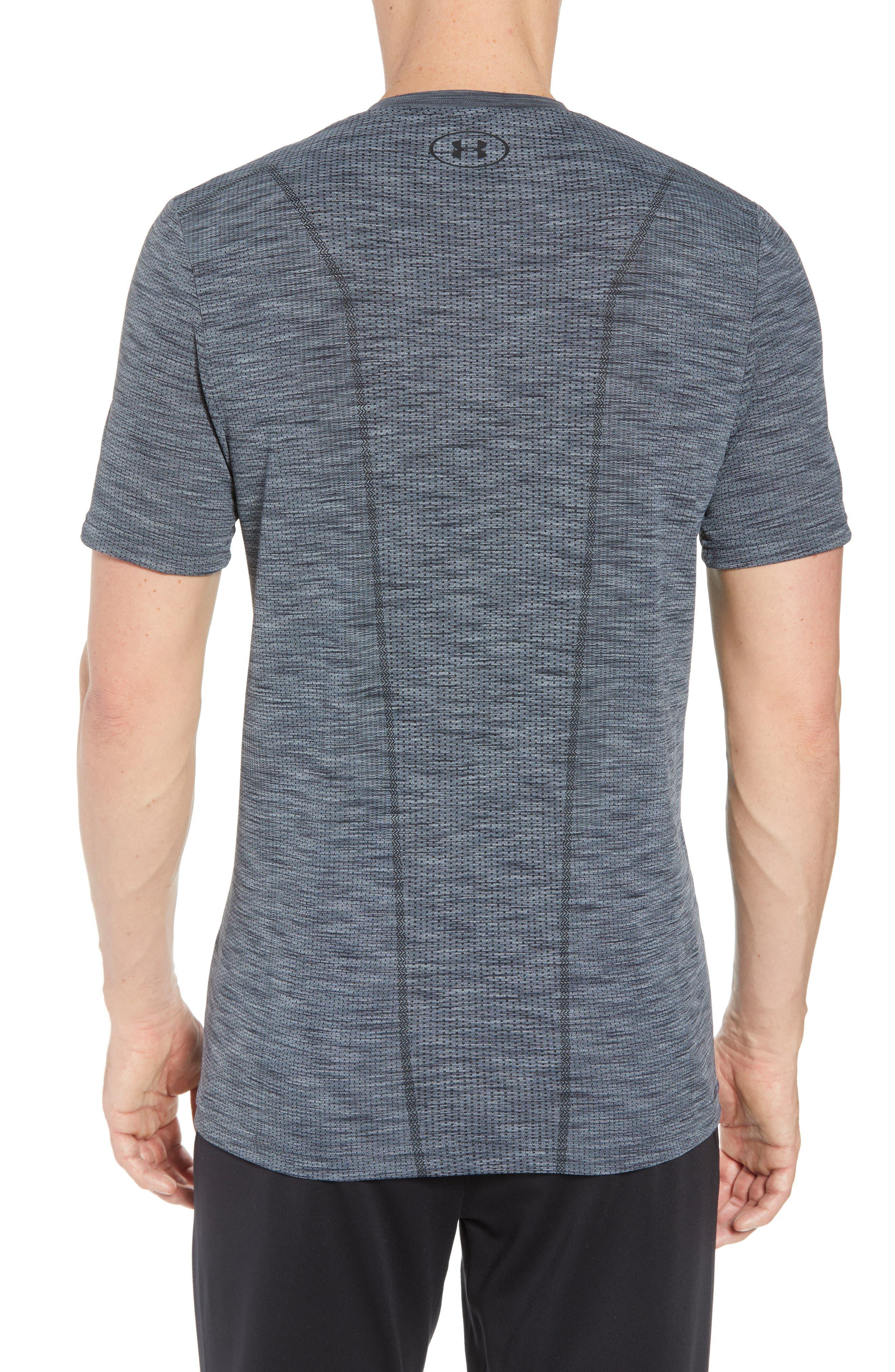 Regular Fit Threadborne T-Shirt,                             Alternate thumbnail 2, color,                             GRAPHITE/ BLACK