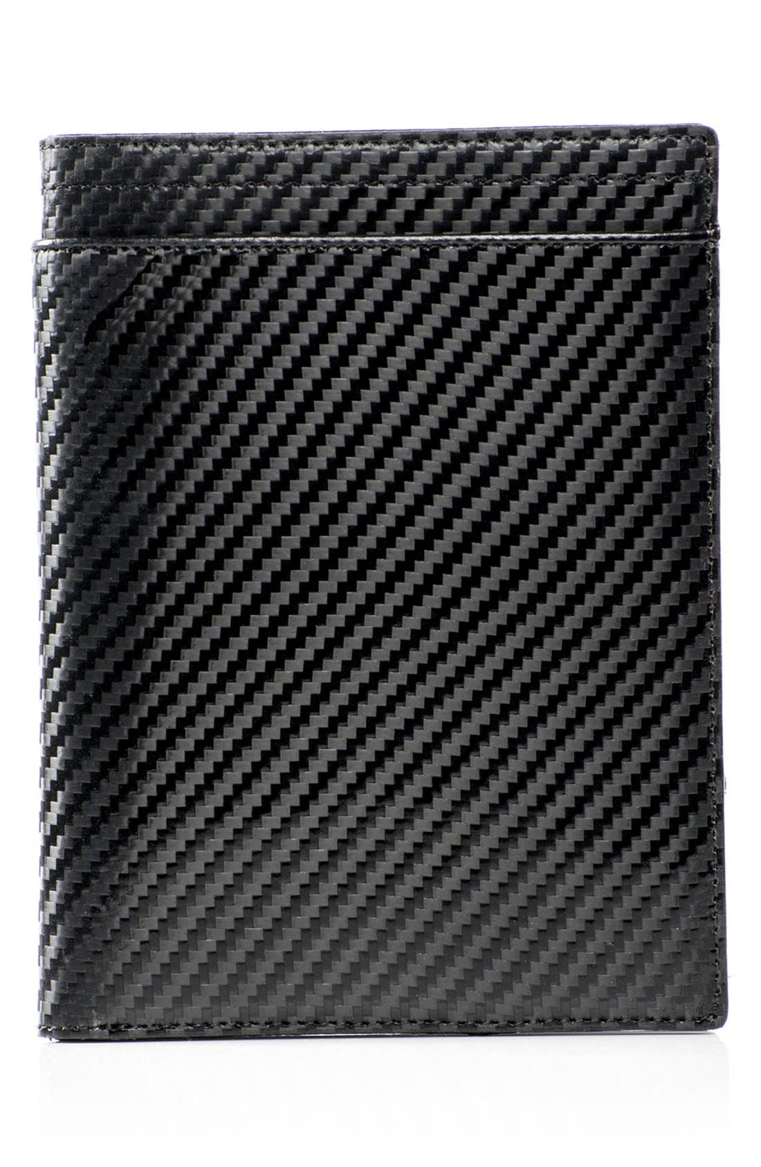 WürkinStiffs Leather RFIDPassport Case,                         Main,                         color, 001