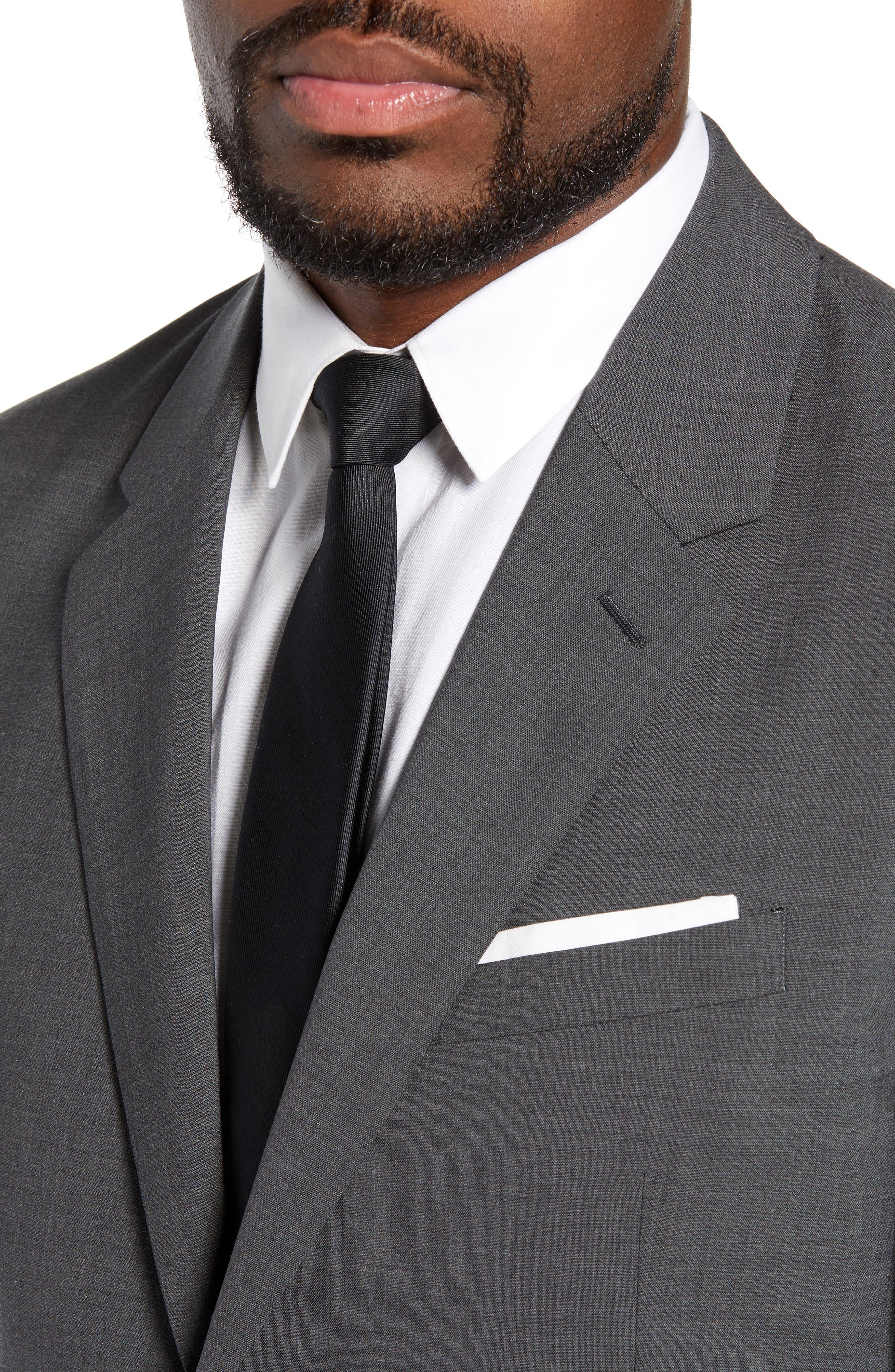 New Tailor Chambers Blazer,                             Alternate thumbnail 4, color,                             MEDIUM CHARCOAL