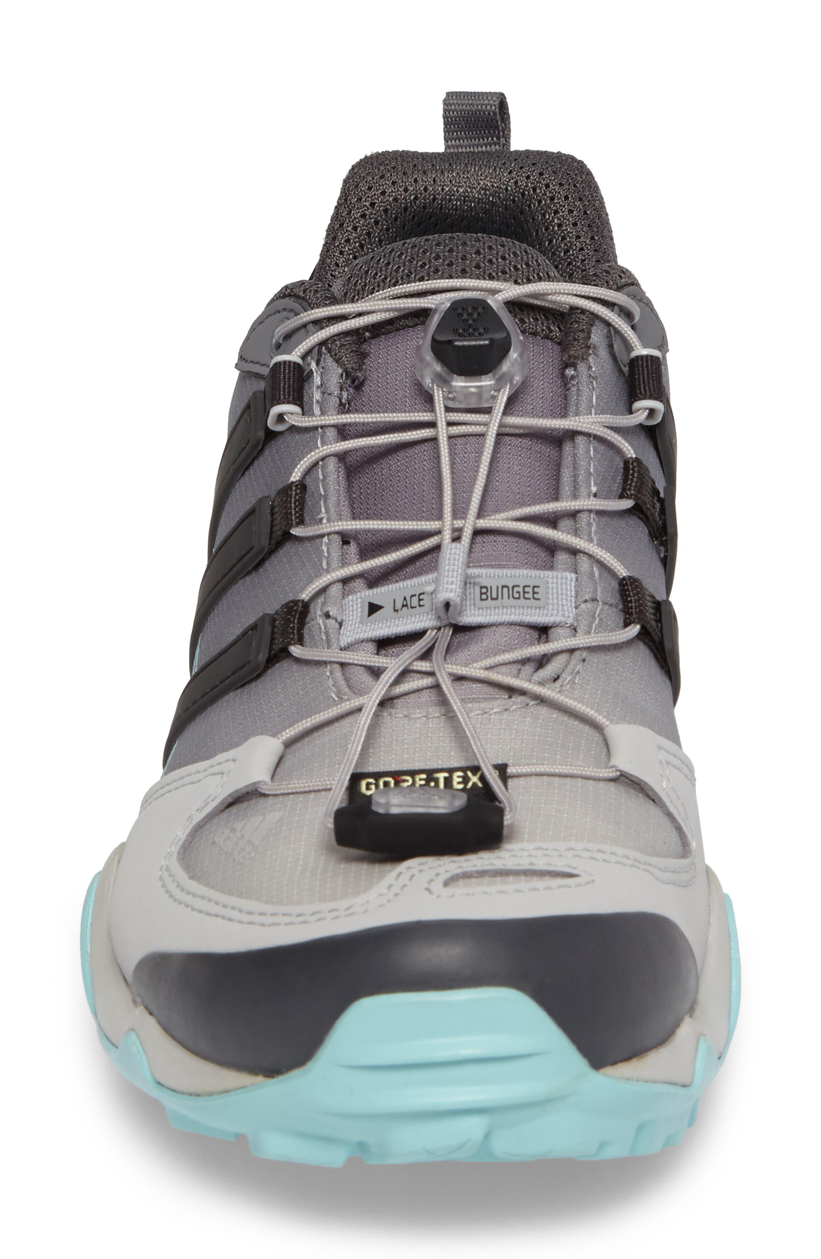 Terrex Swift R GTX Hiking Shoe,                             Alternate thumbnail 4, color,                             020