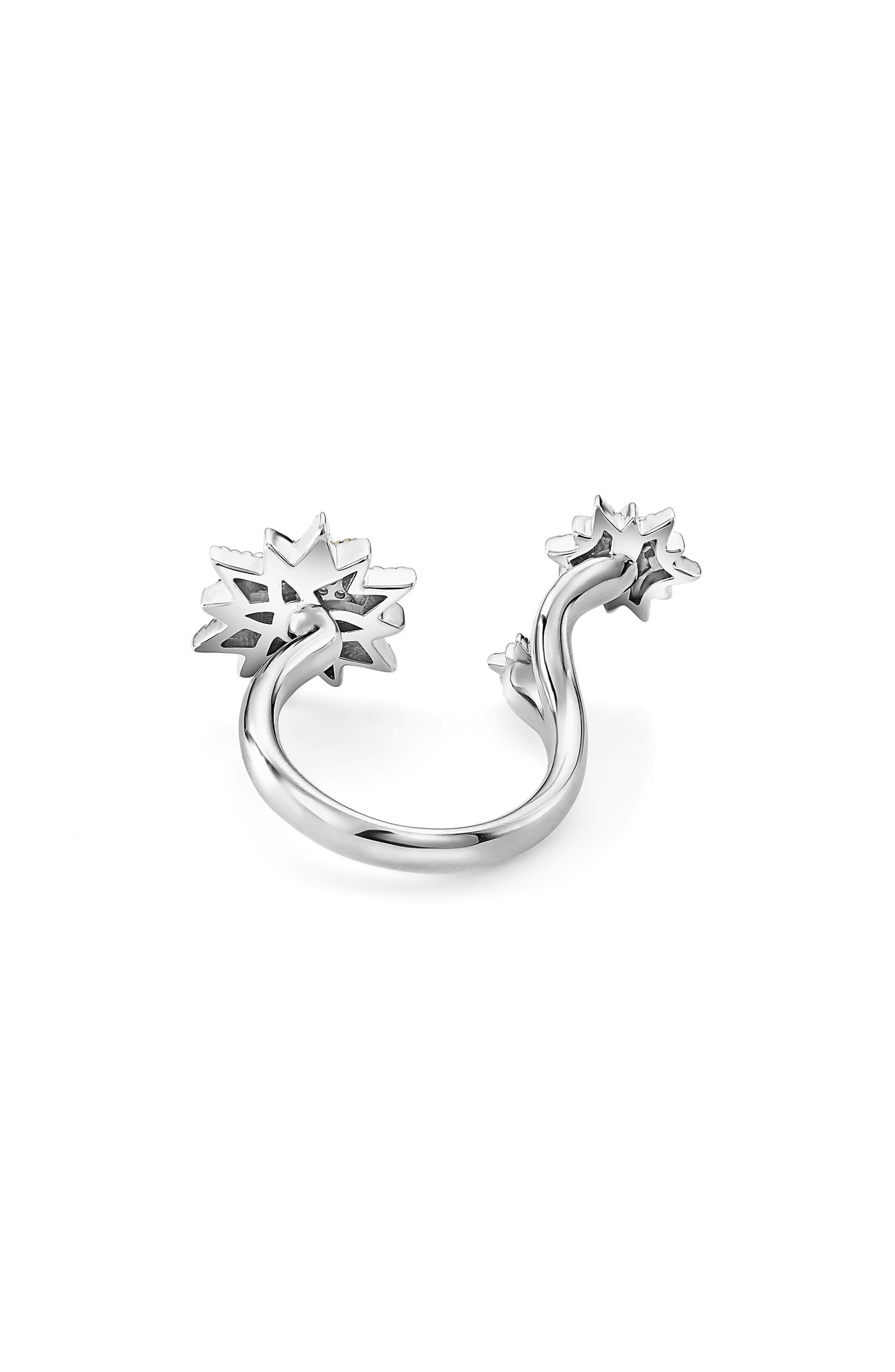 North Star Diamond Ring,                             Alternate thumbnail 3, color,                             DIAMOND