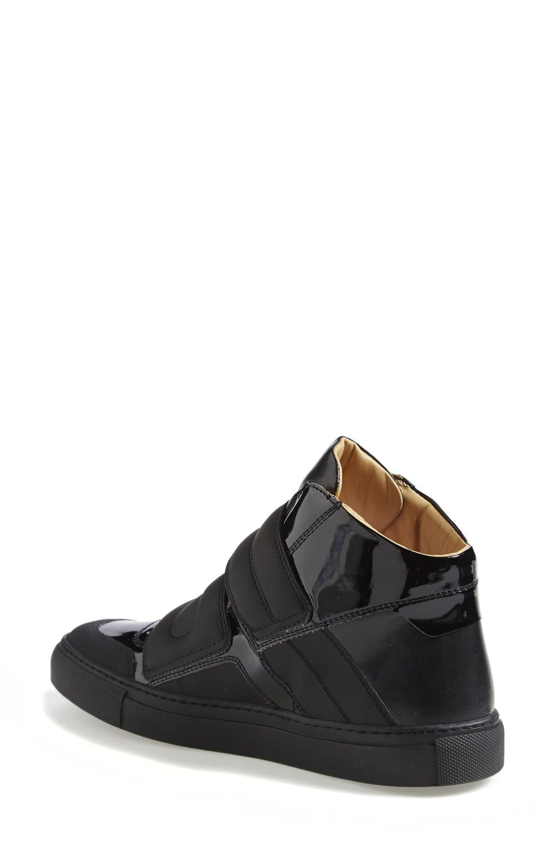 High Top Sneaker,                             Alternate thumbnail 2, color,                             001
