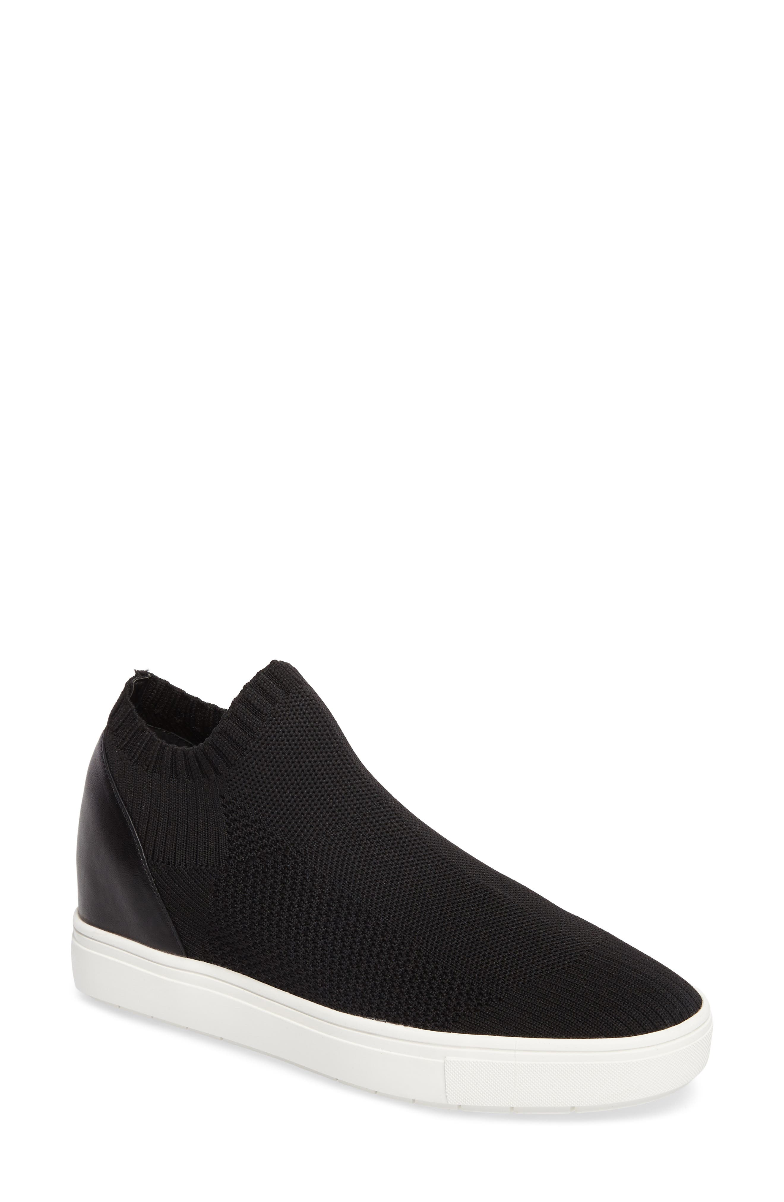 Sly Hidden Wedge Knit Sneaker,                             Main thumbnail 1, color,                             003