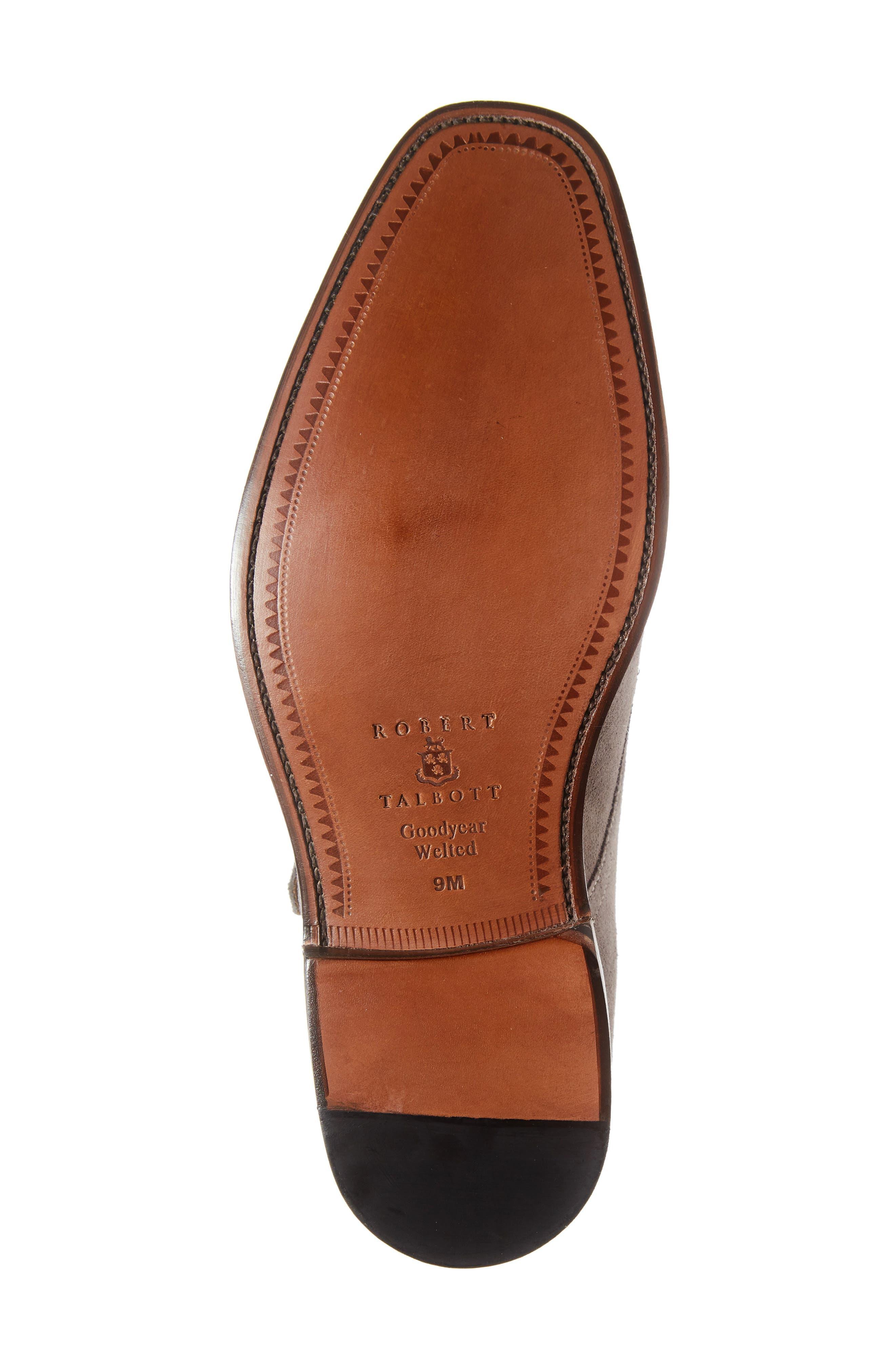 Sausalito Double Monk Strap Shoe,                             Alternate thumbnail 6, color,                             GREY SUEDE