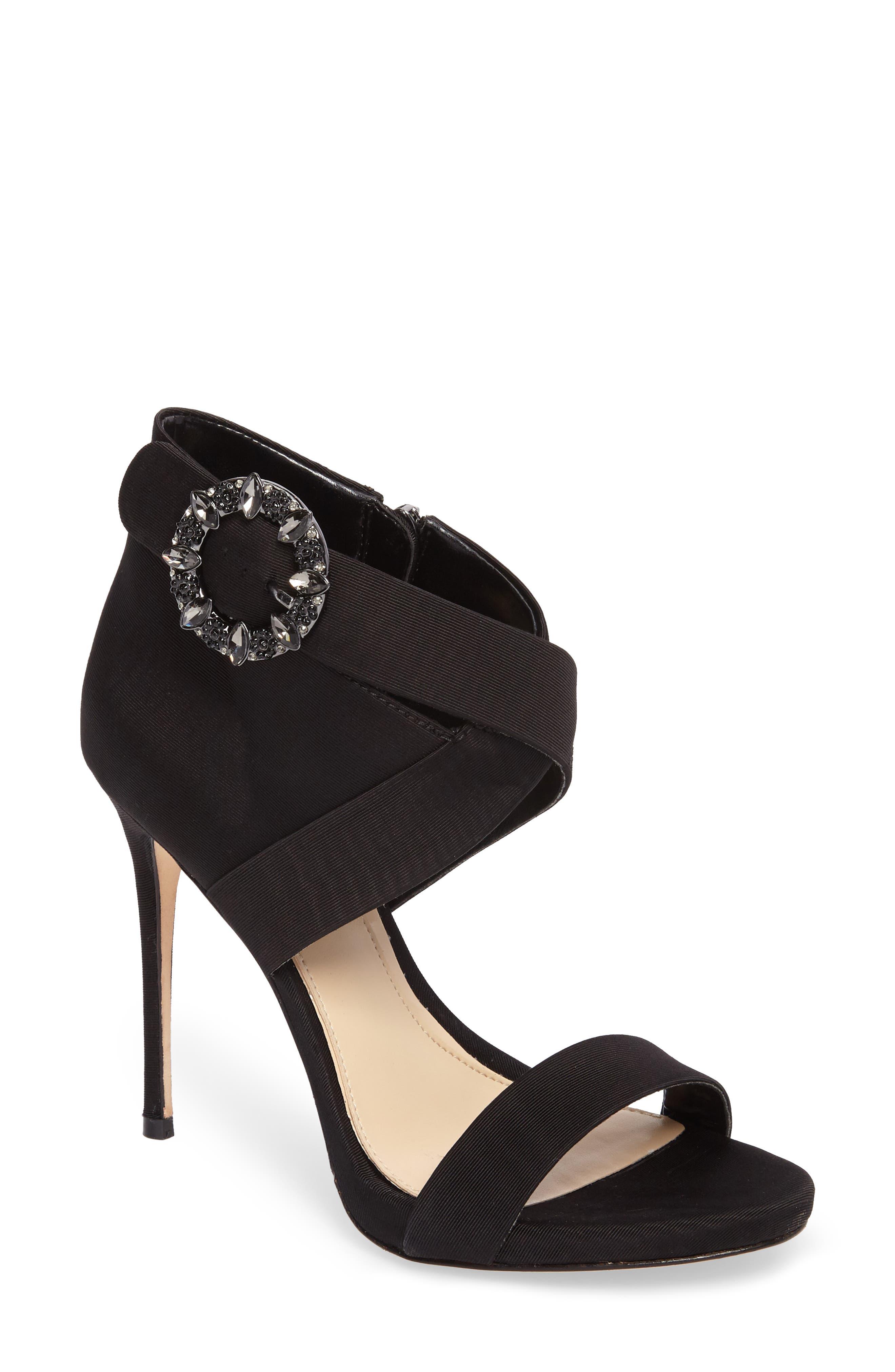 Vince Camuto Dashal Crystal Buckle Sandal,                         Main,                         color,