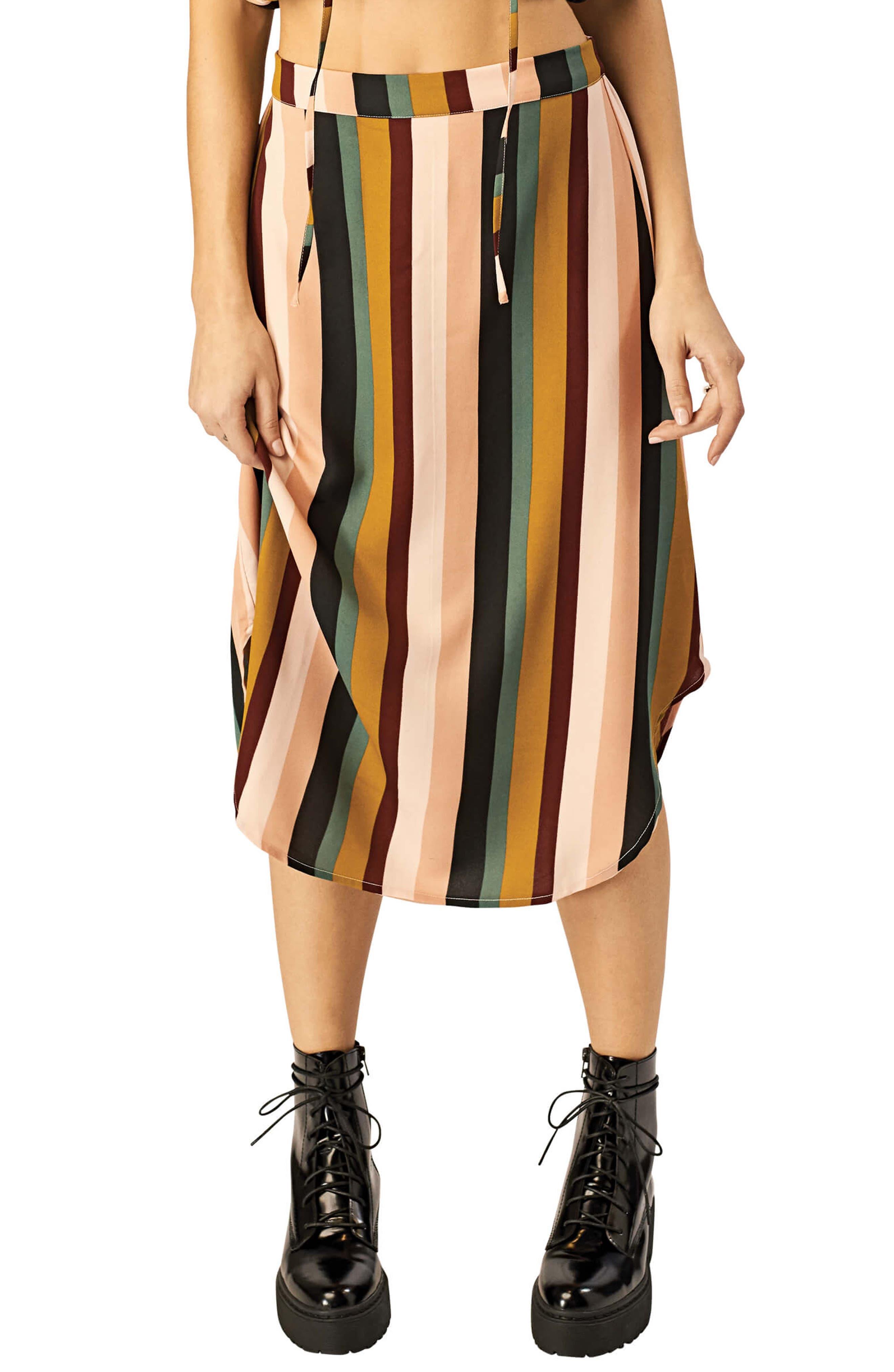 Stone Row Tropickle Skirt, White