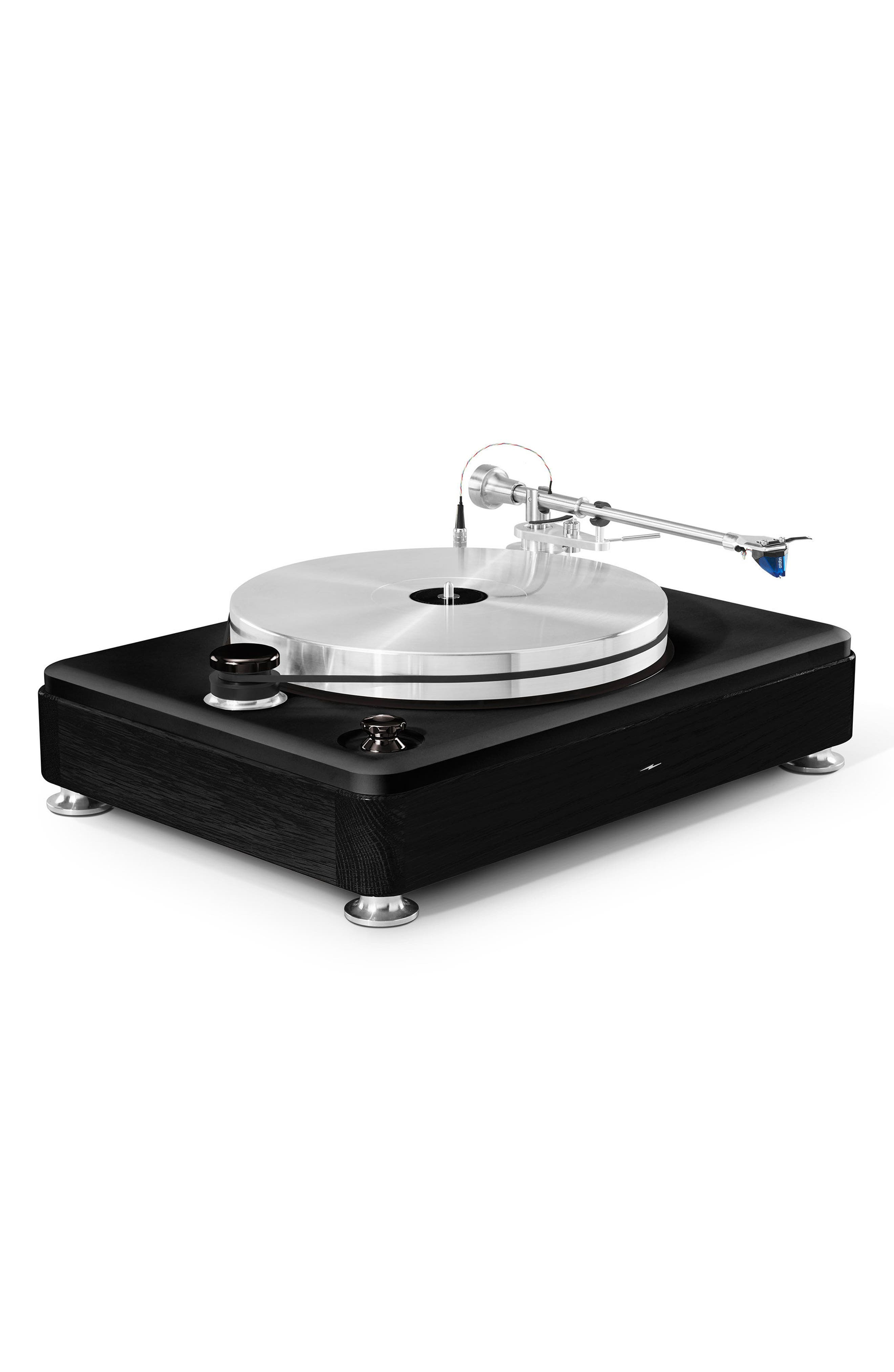 The Runwell Turntable,                             Alternate thumbnail 2, color,                             BLACK/ SILVER