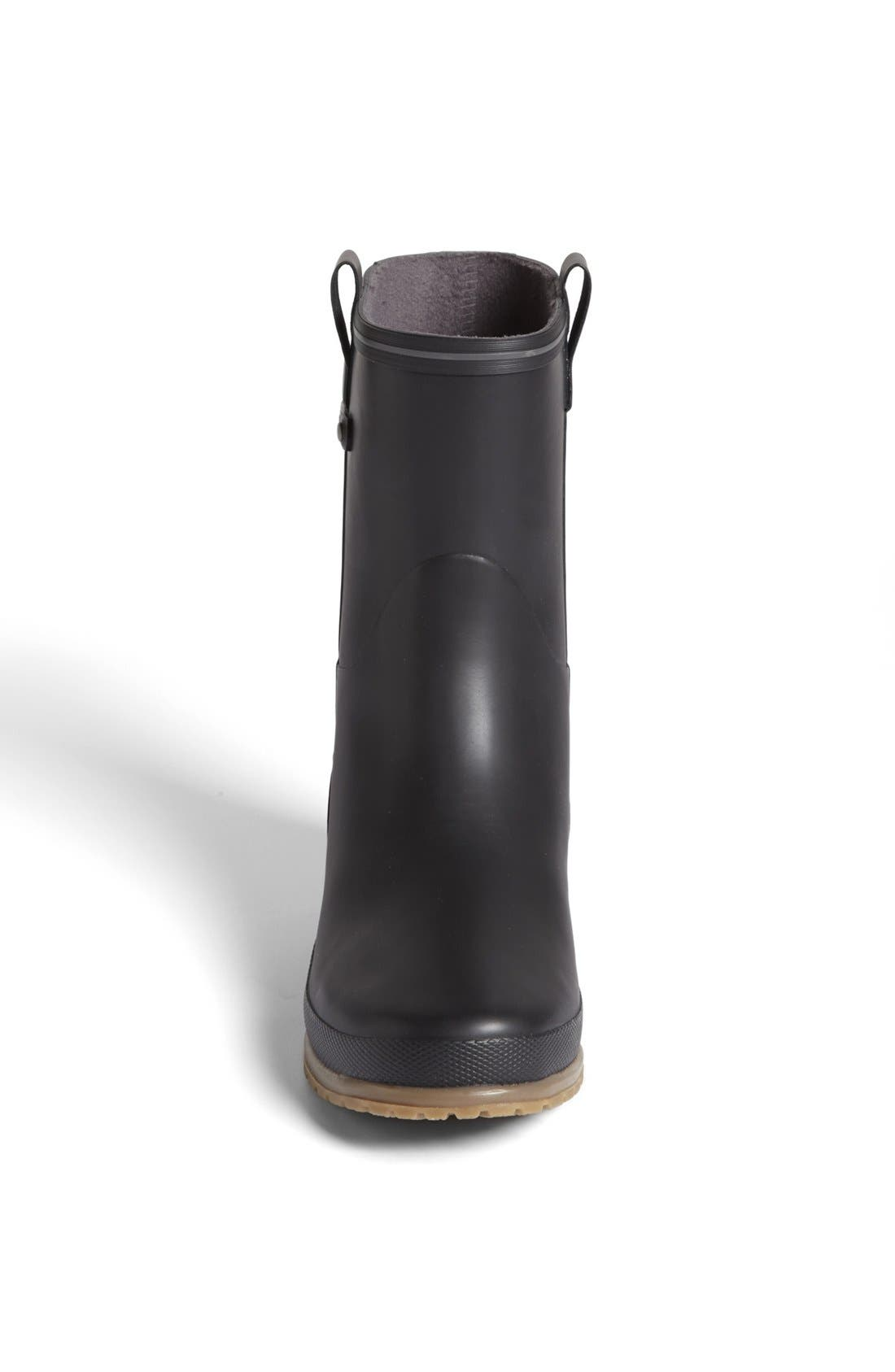 'Elsa' Rain Boot,                             Alternate thumbnail 3, color,                             001