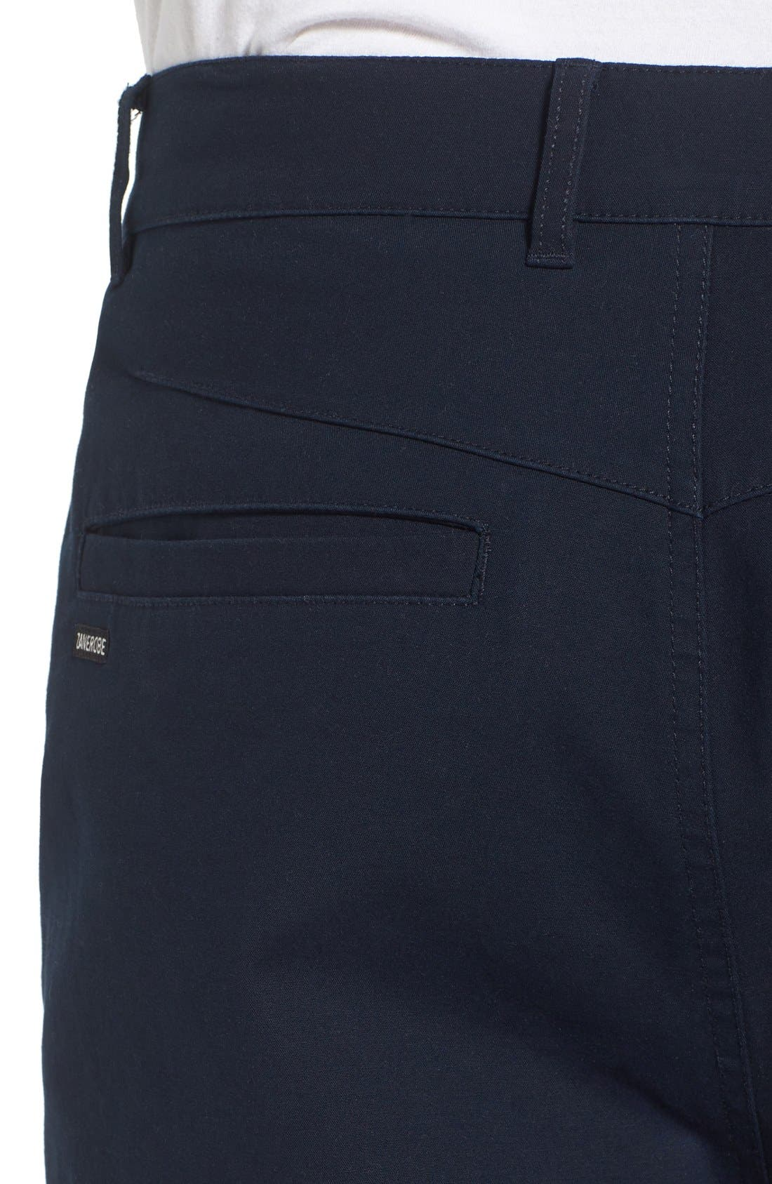 'Sharpshot' Slouchy Skinny Fit Chinos,                             Alternate thumbnail 5, color,                             410