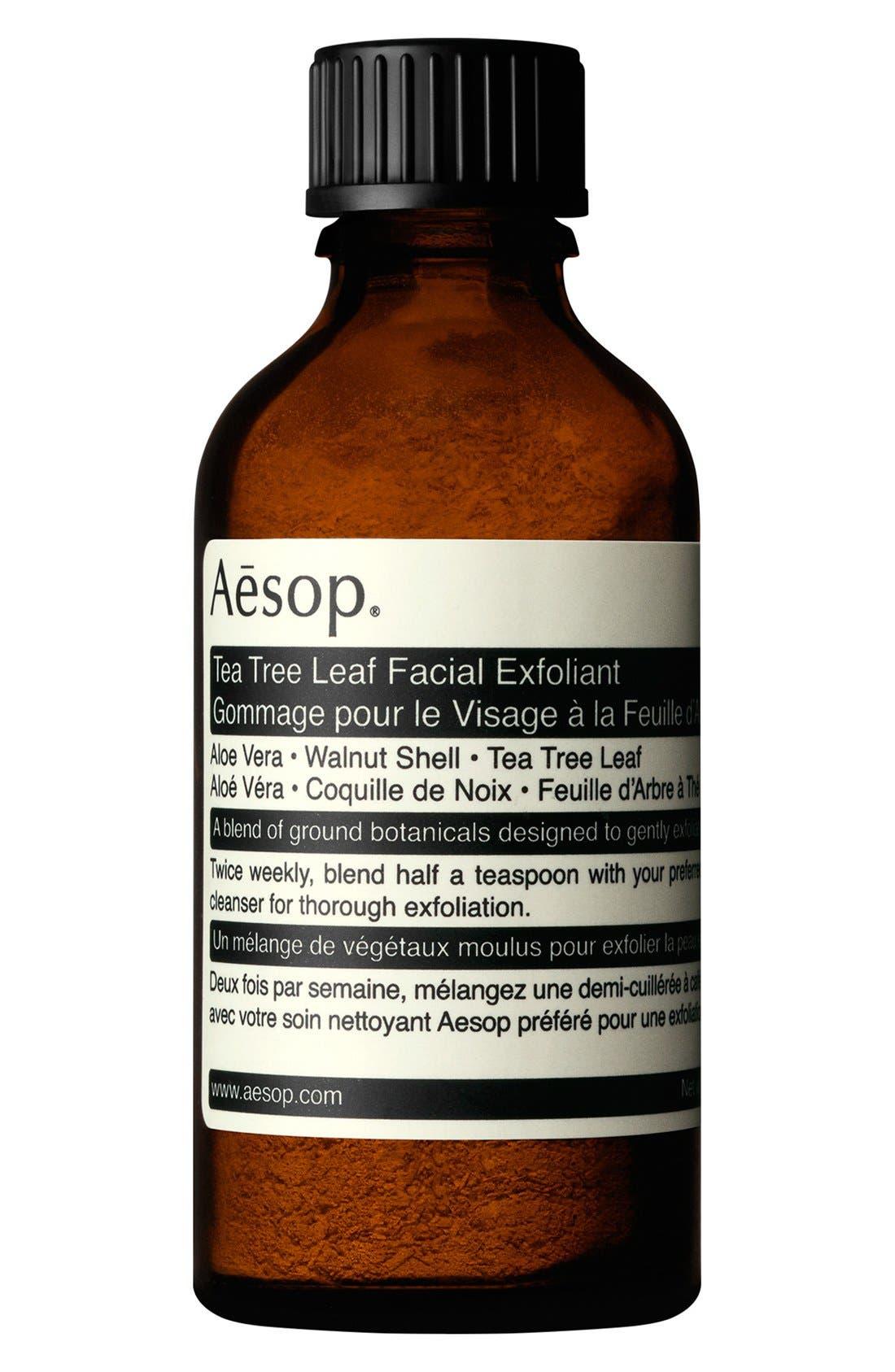 Tea Tree Leaf Facial Exfoliant,                             Main thumbnail 1, color,                             NONE