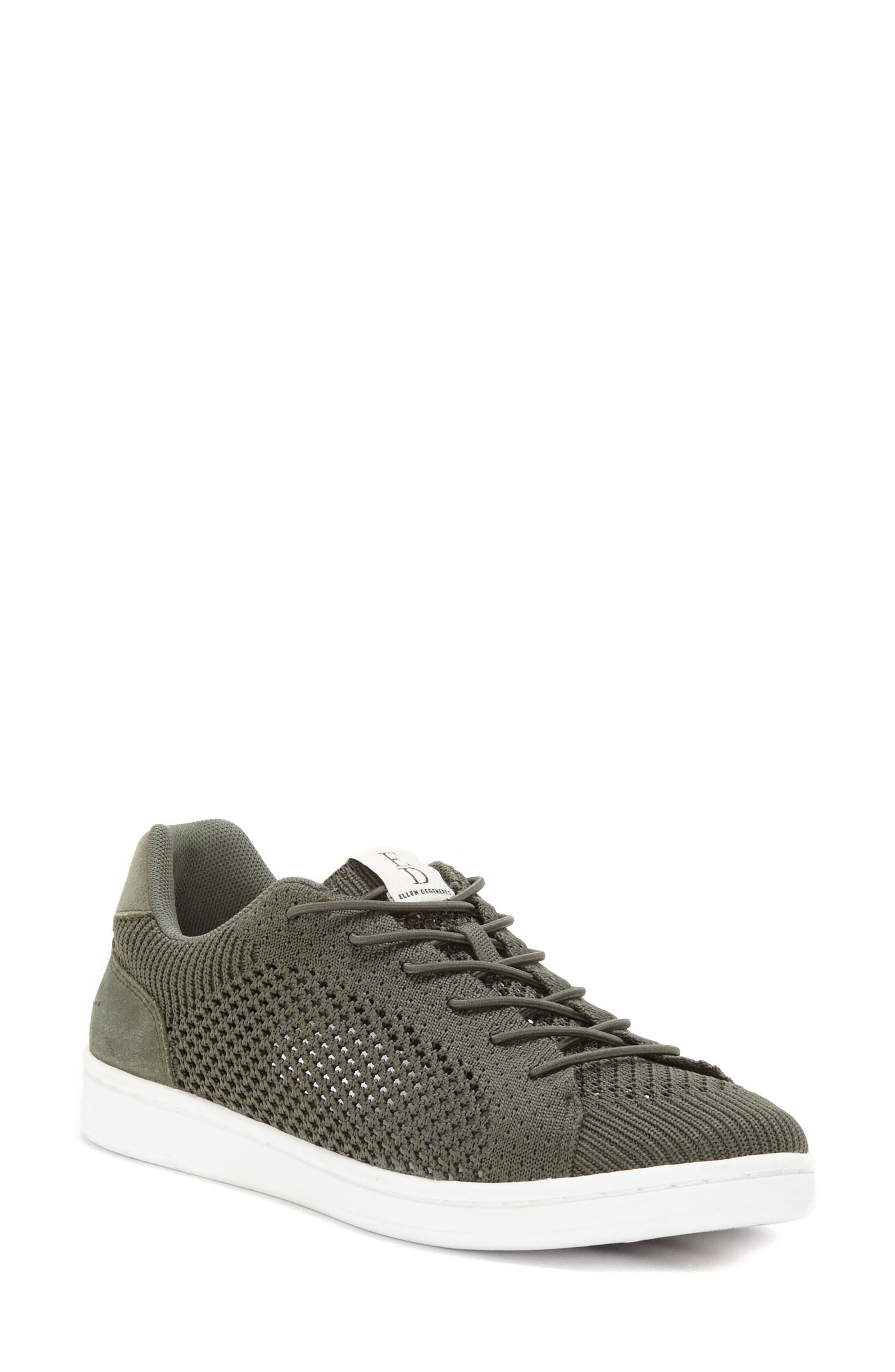 Casie Knit Sneaker,                             Main thumbnail 1, color,                             FOREST KNIT FABRIC