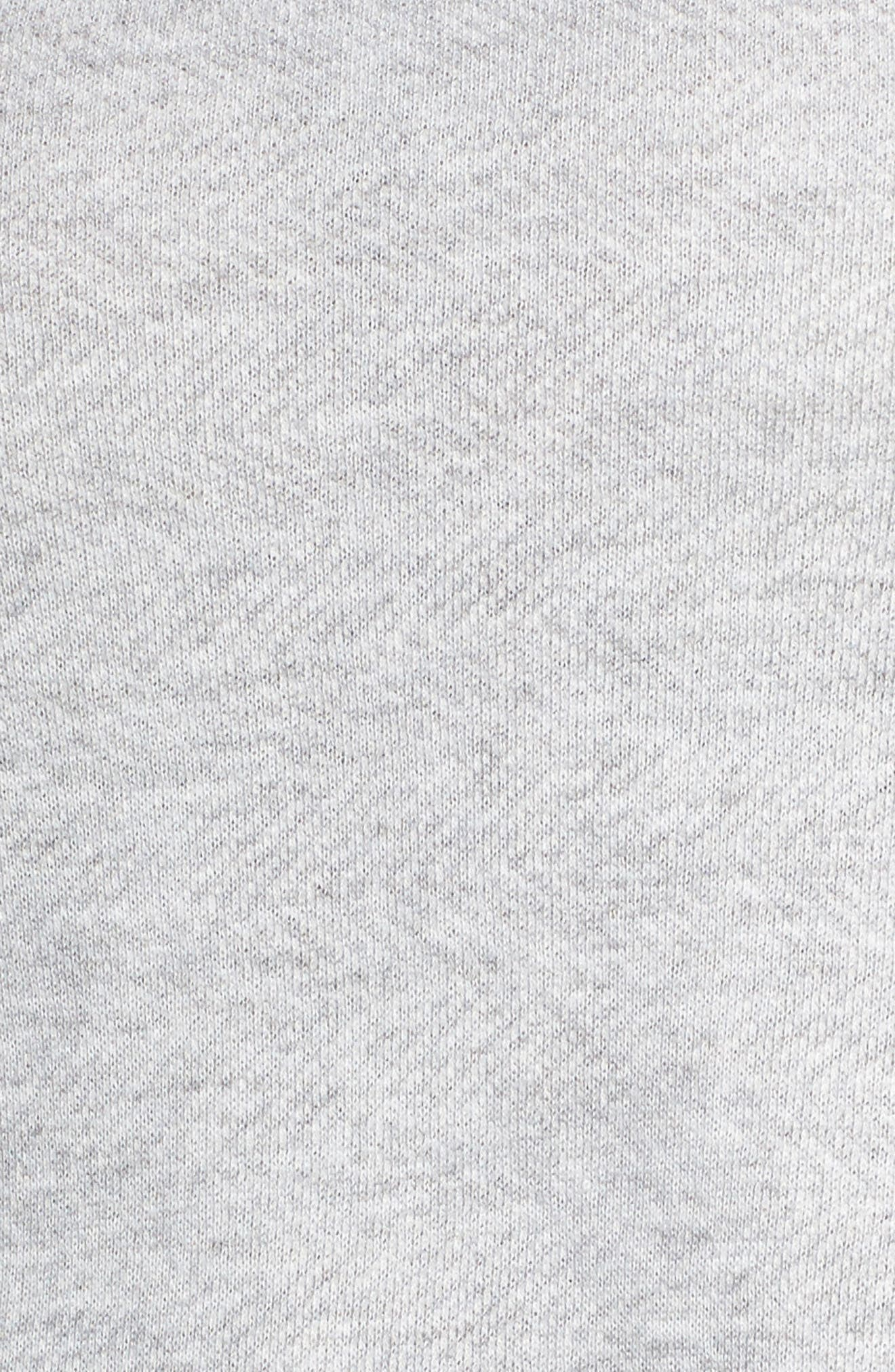 Layered Look Sweatshirt,                             Alternate thumbnail 5, color,                             030