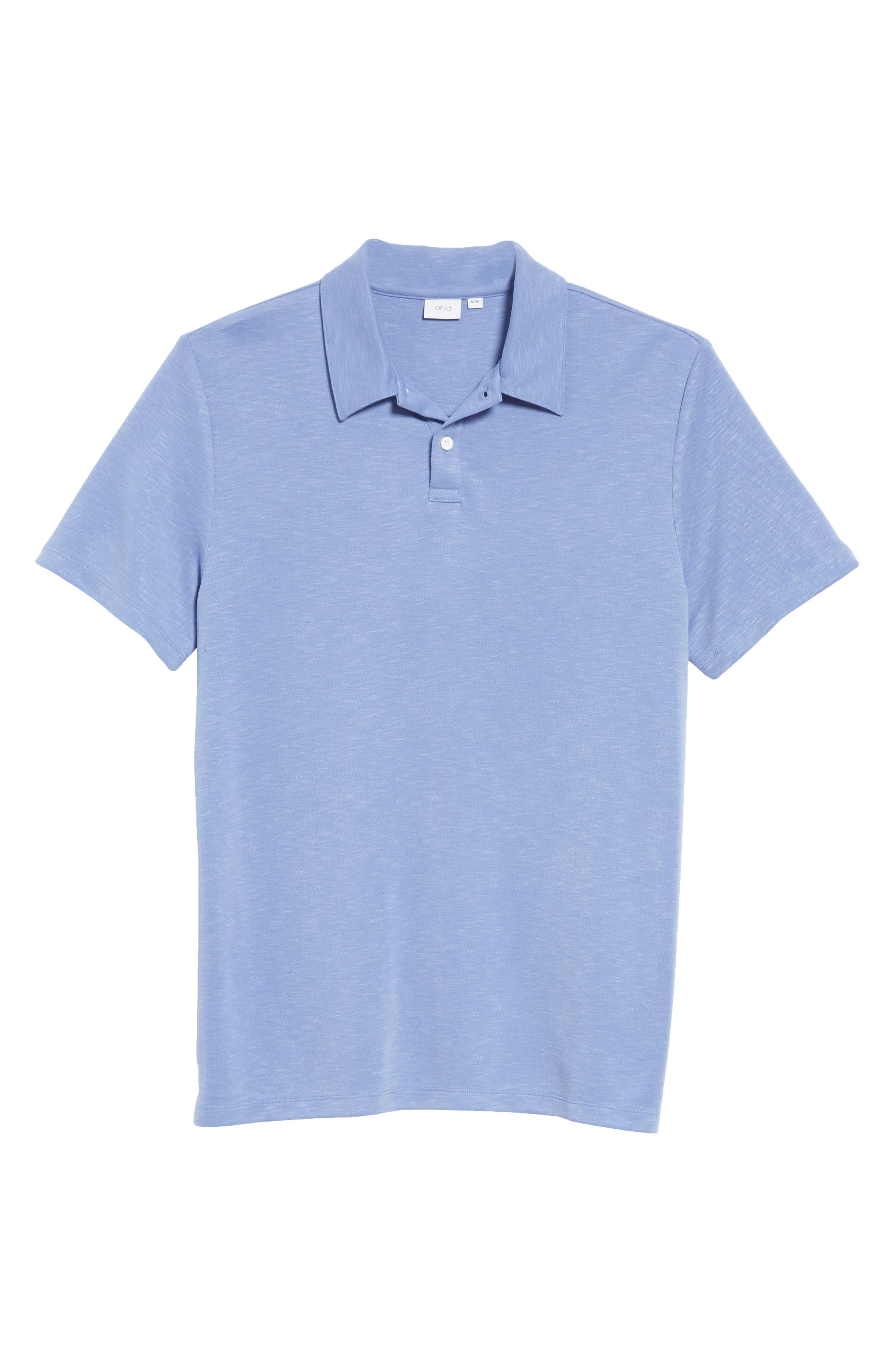 Alec Jersey Polo,                             Alternate thumbnail 6, color,                             444