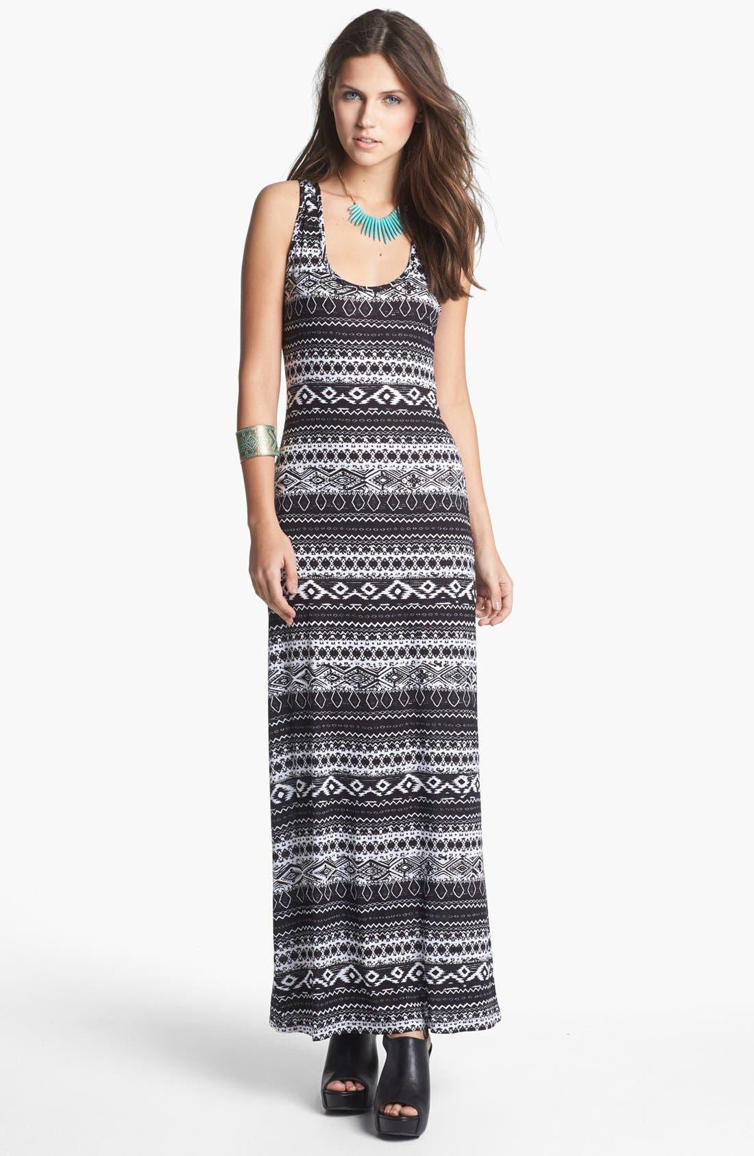 MINTY Racerback Maxi Dress, Main, color, 001