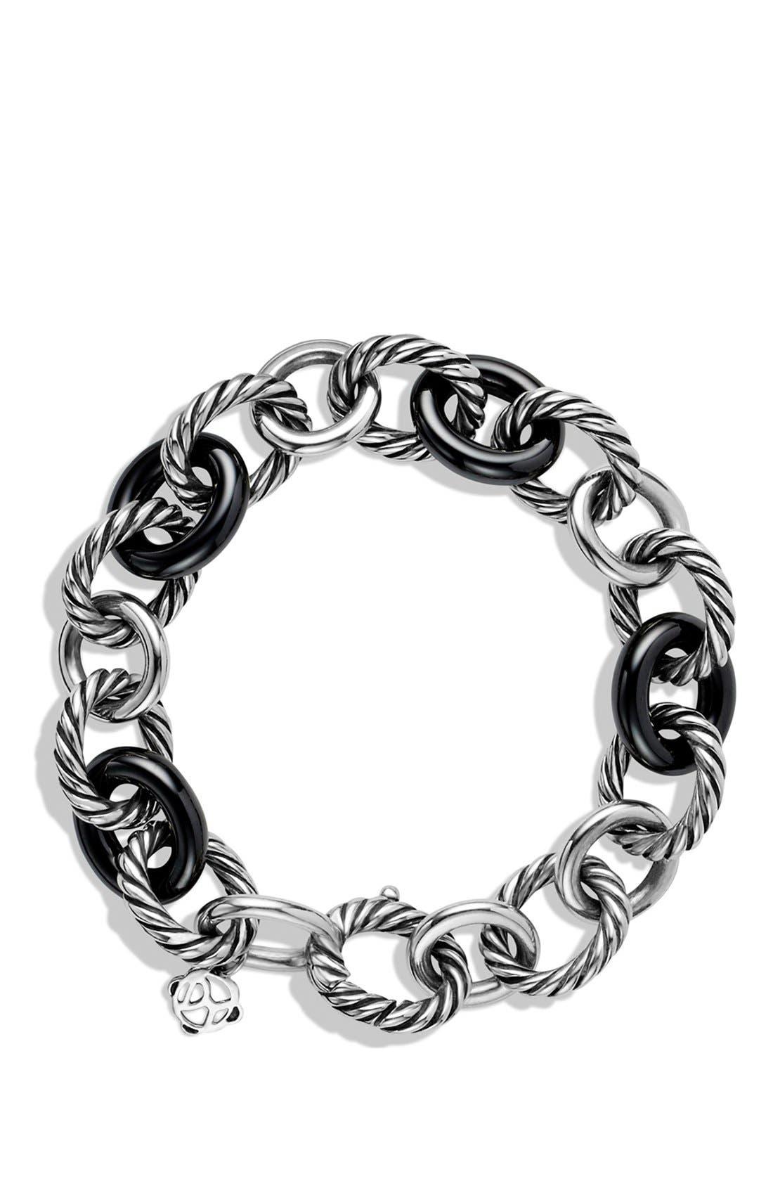'Oval' Large Link Bracelet,                             Alternate thumbnail 2, color,                             010