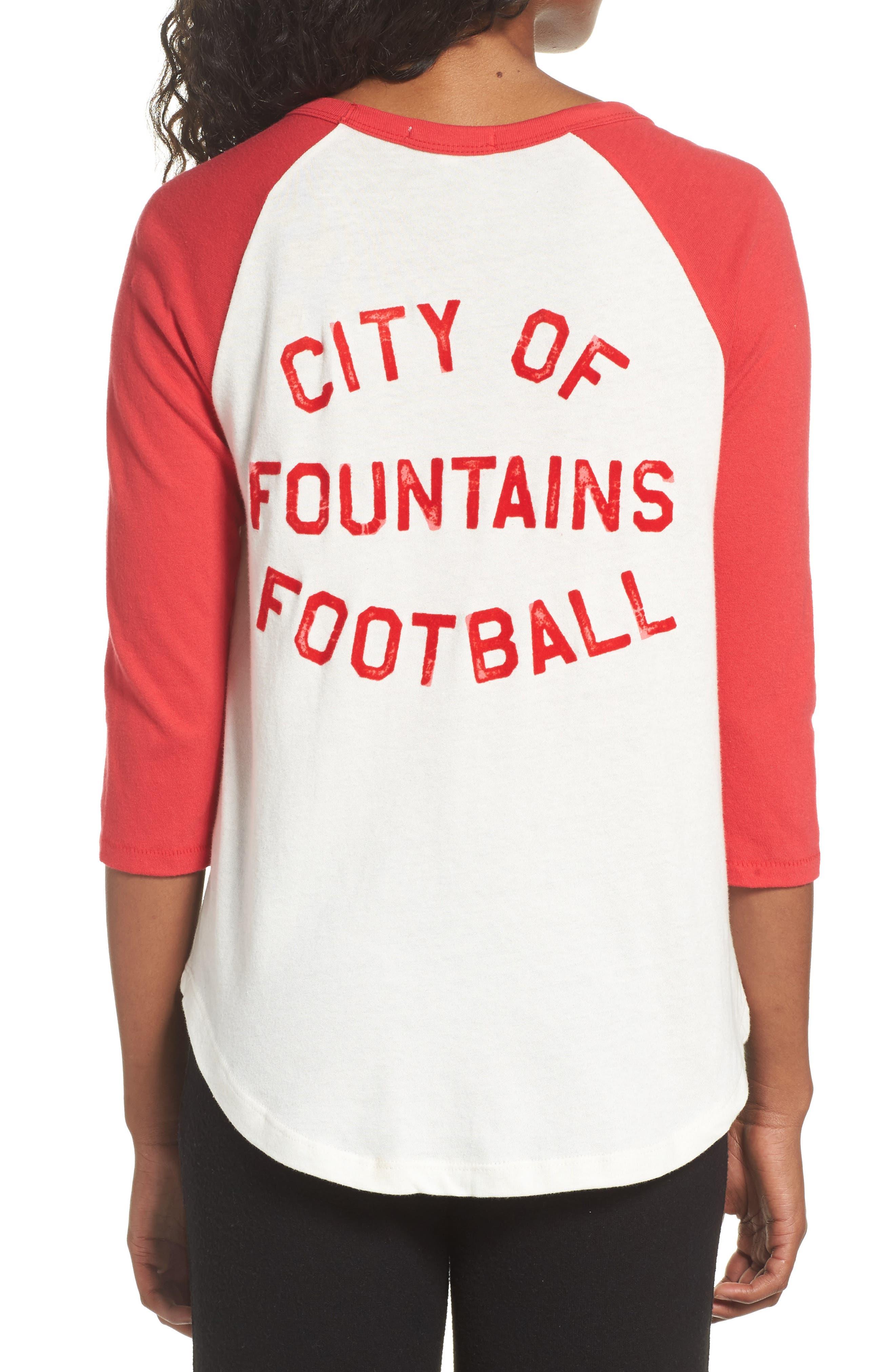 NFL Kansas City Chiefs Raglan Tee,                             Alternate thumbnail 2, color,                             189