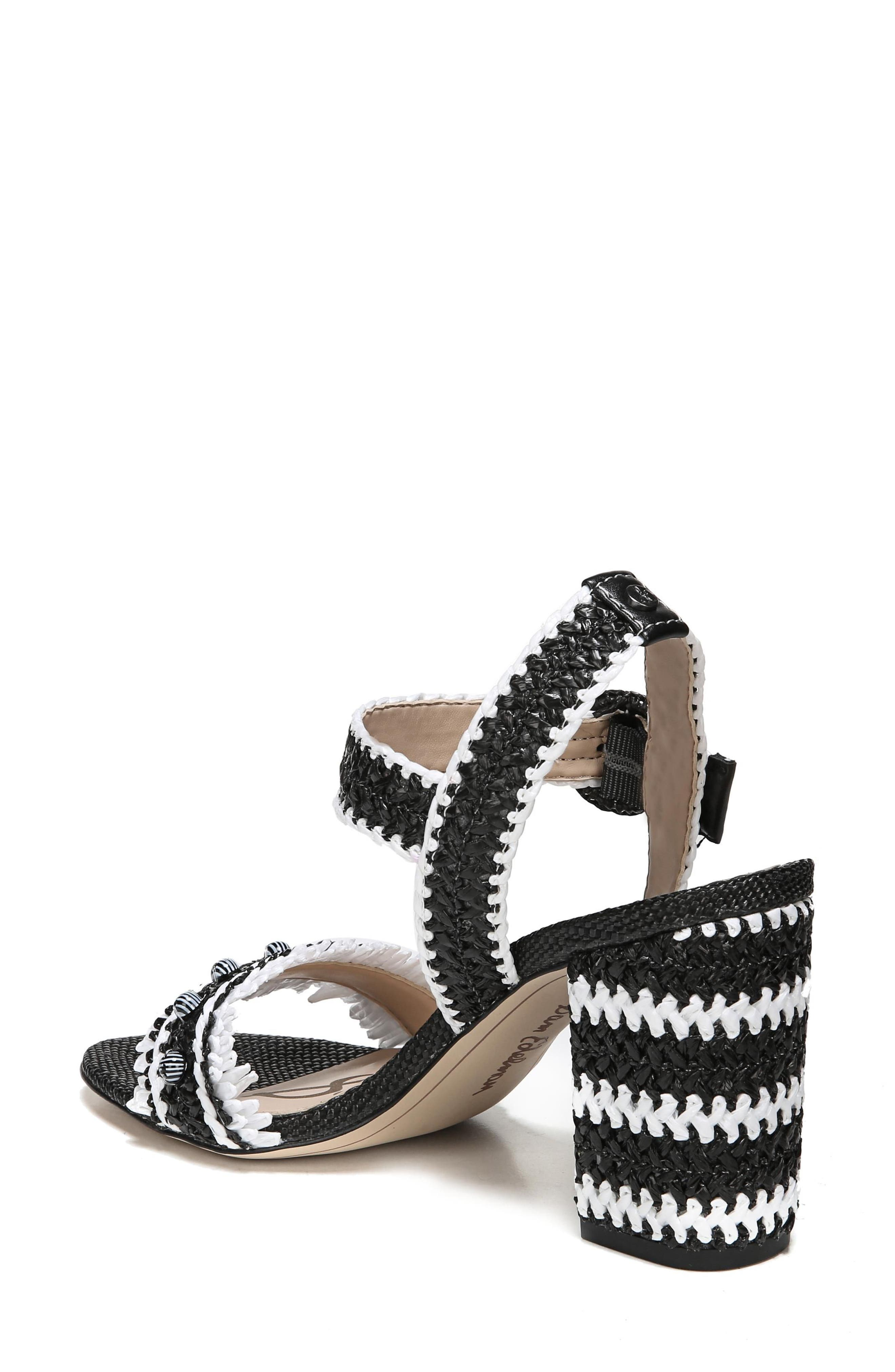 Olisa Block Heel Sandal,                             Alternate thumbnail 2, color,                             001