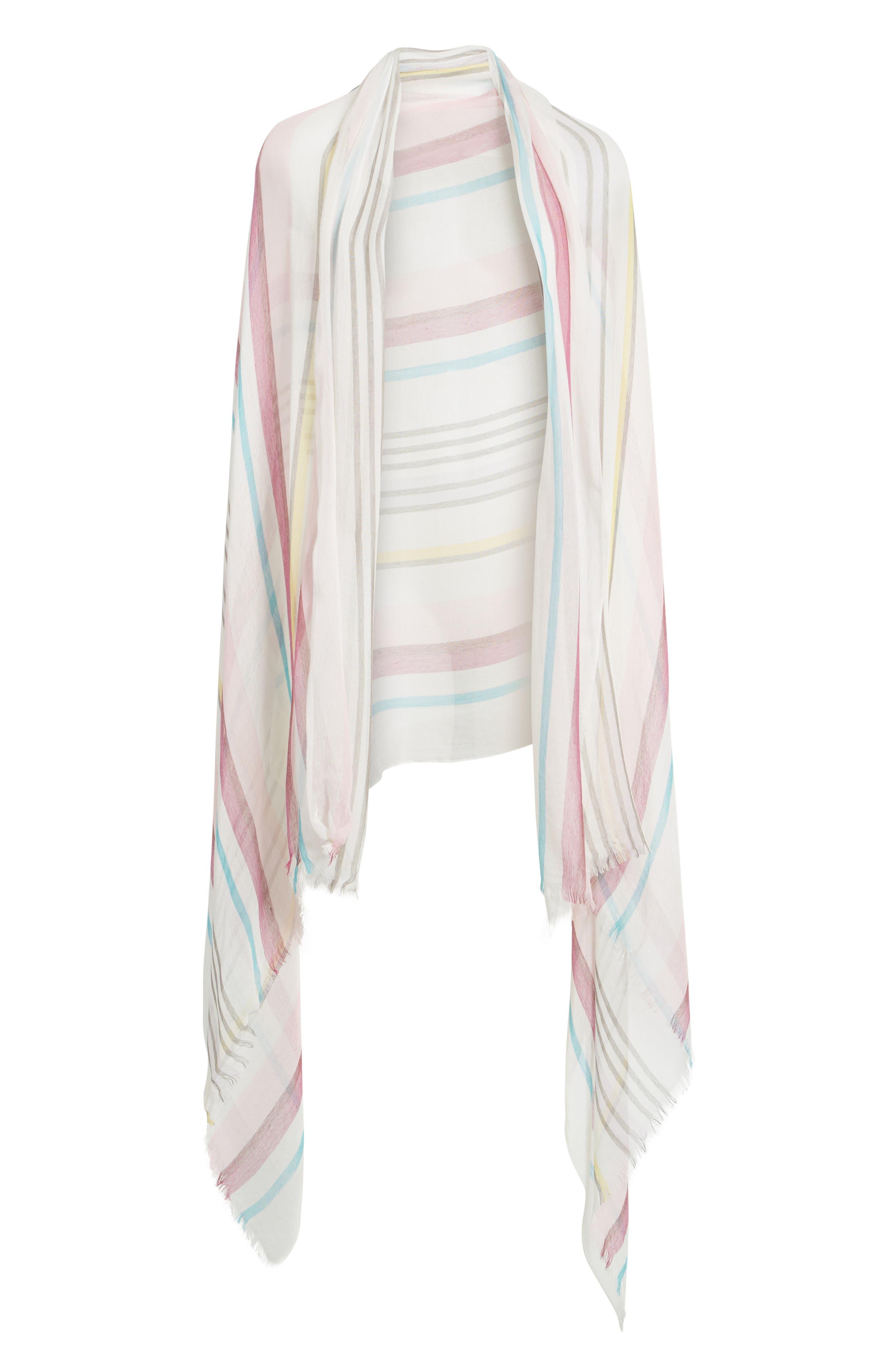 Yarn Dyed Stripe Wrap,                             Alternate thumbnail 12, color,