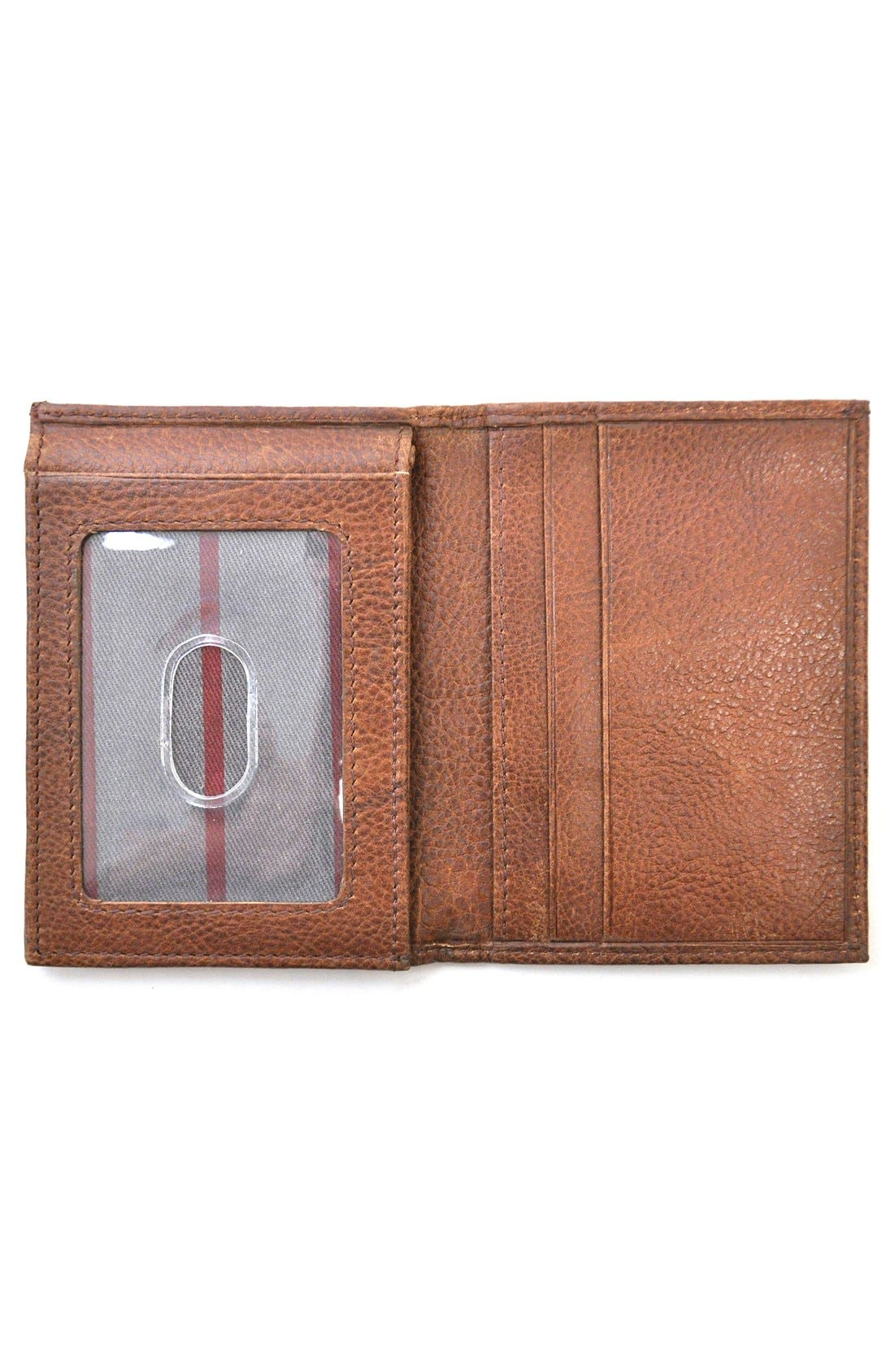 Triple Play Leather L-Fold Wallet,                             Alternate thumbnail 6, color,                             202