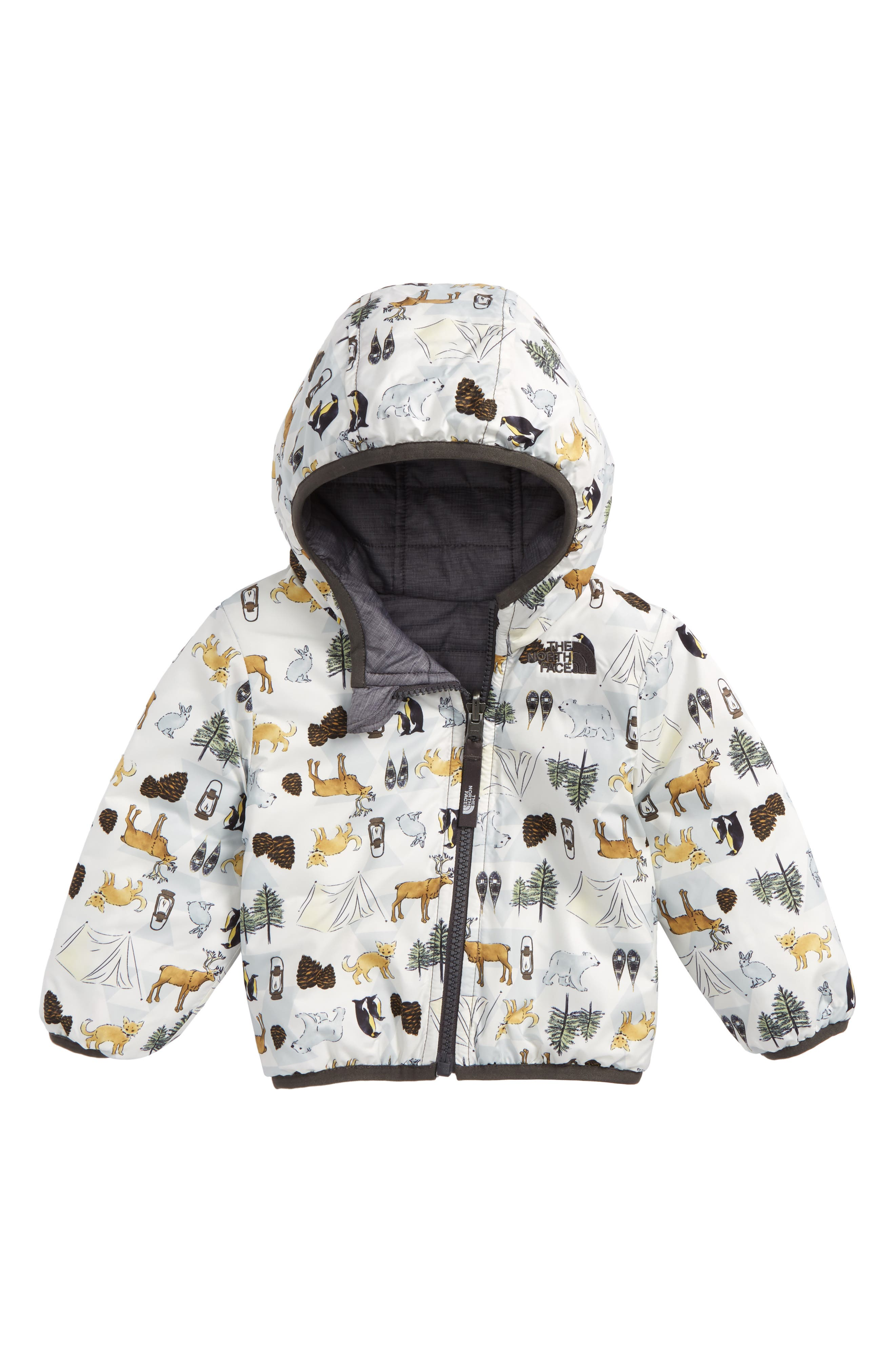 Perrito Reversible Water Repellent Heatseeker<sup>™</sup> Insulated Jacket,                             Alternate thumbnail 2, color,                             GREY HEATHER/ GRAPHITE GREY