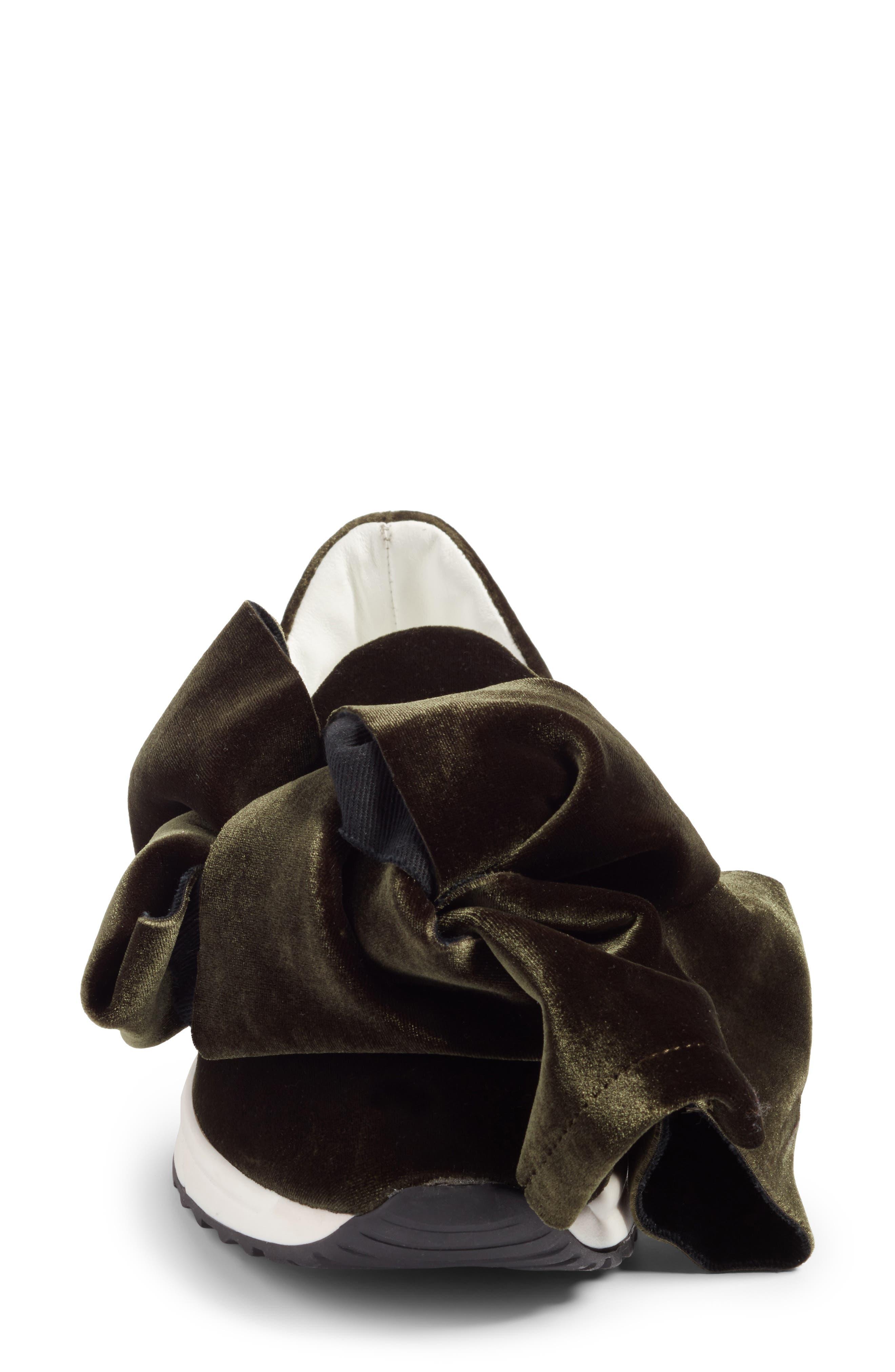Knotted Slip-On Sneaker,                             Alternate thumbnail 4, color,                             300
