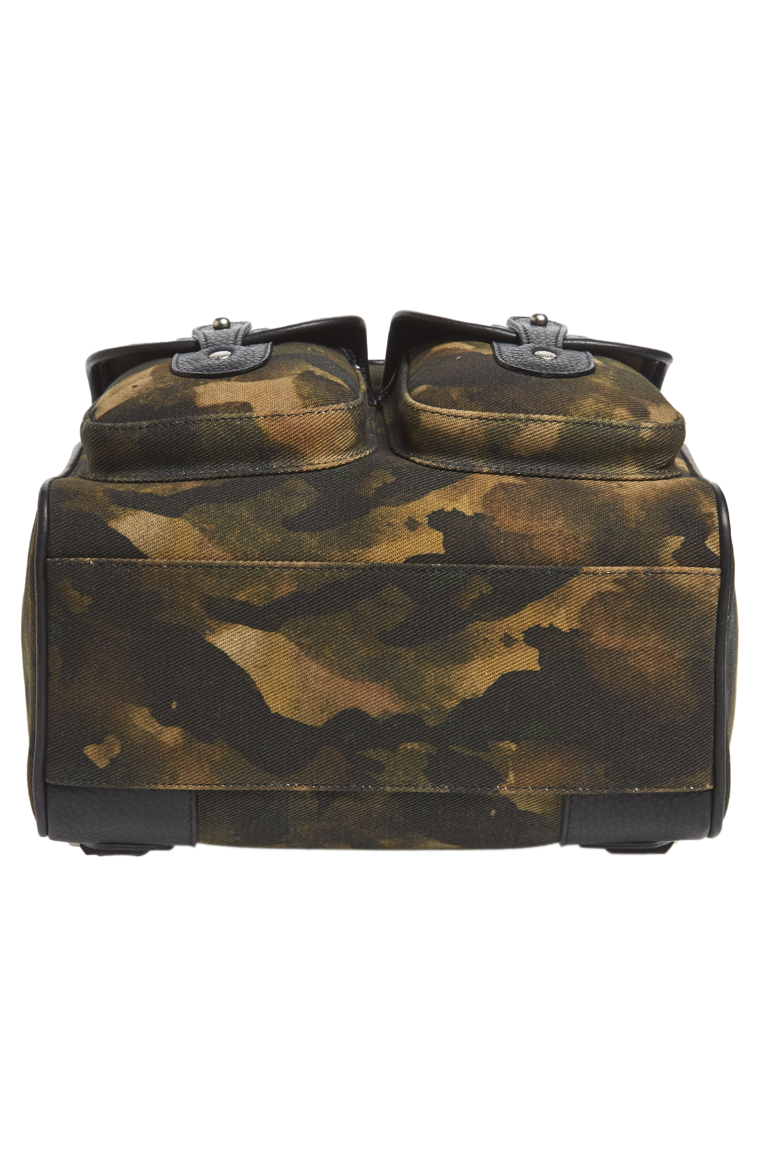 Blazer Canvas Backpack,                             Alternate thumbnail 6, color,                             CAMO SOLID