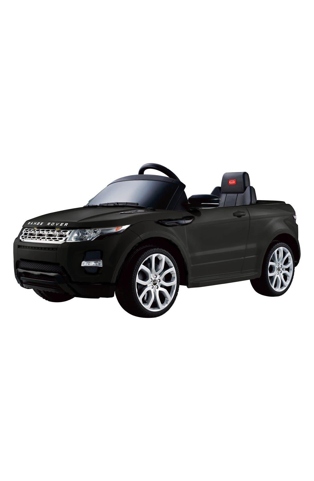 'Range Rover Evoque' 12V RC Ride-On Toy Car, Main, color, 001