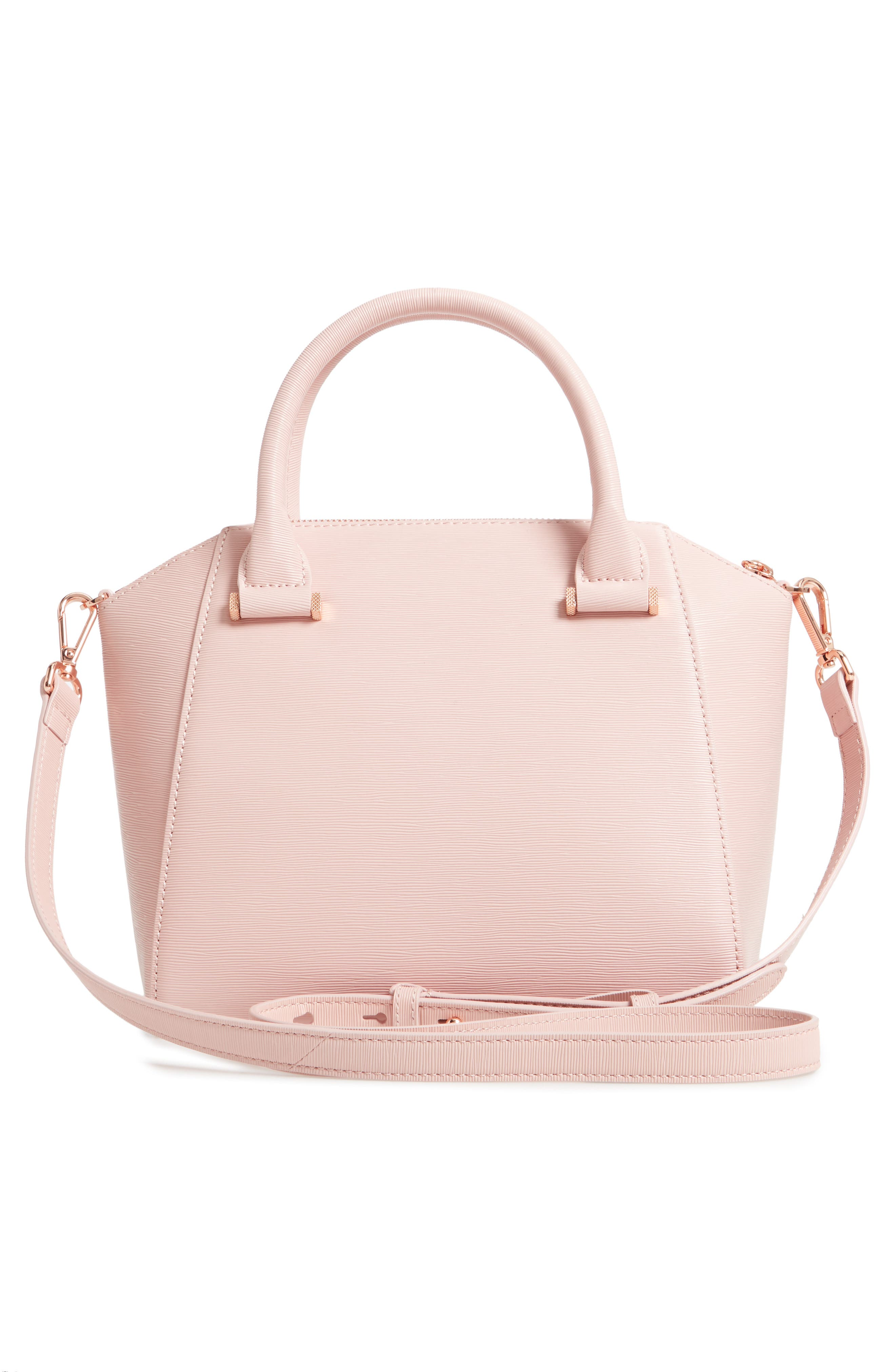Bow Tote,                             Alternate thumbnail 3, color,                             LIGHT PINK
