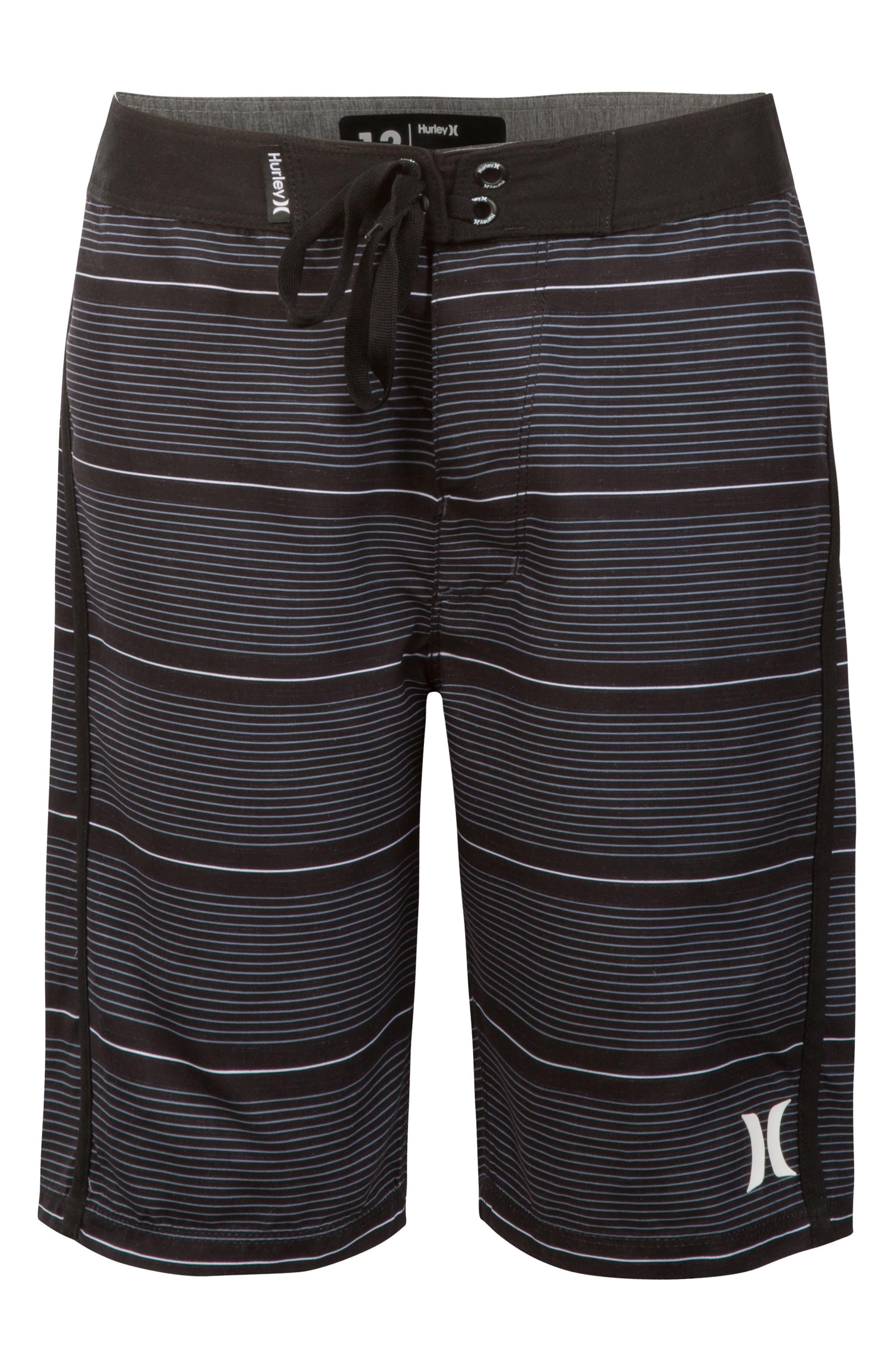 Shoreline Board Shorts,                         Main,                         color, BLACK