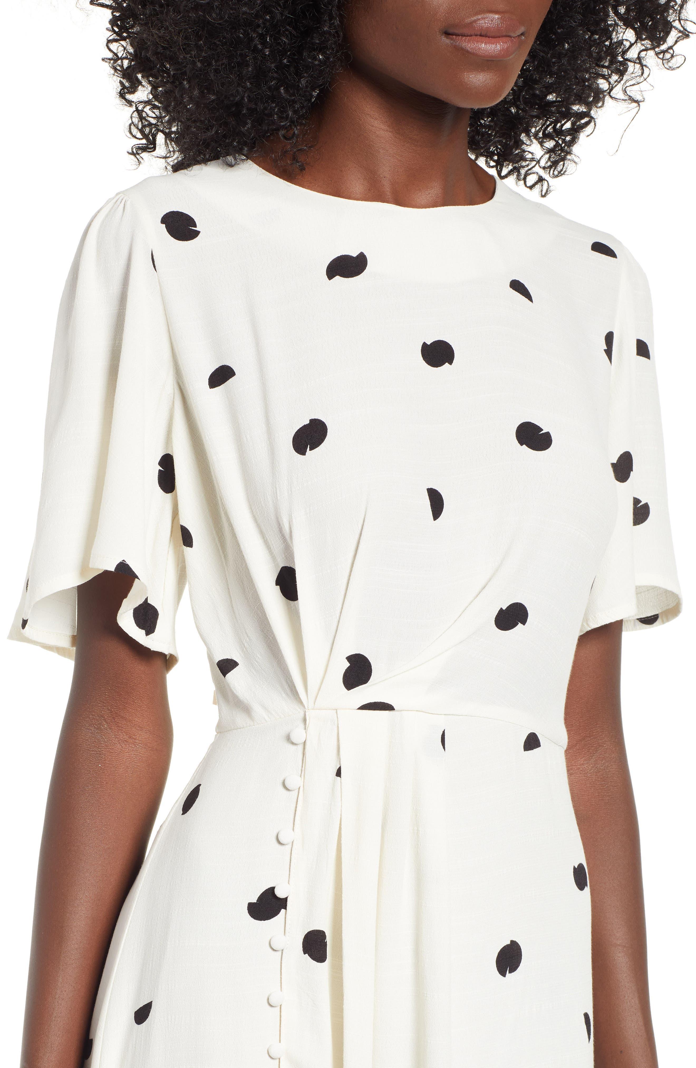 ASTR THE LABEL,                             Ebony Dress,                             Alternate thumbnail 4, color,                             900