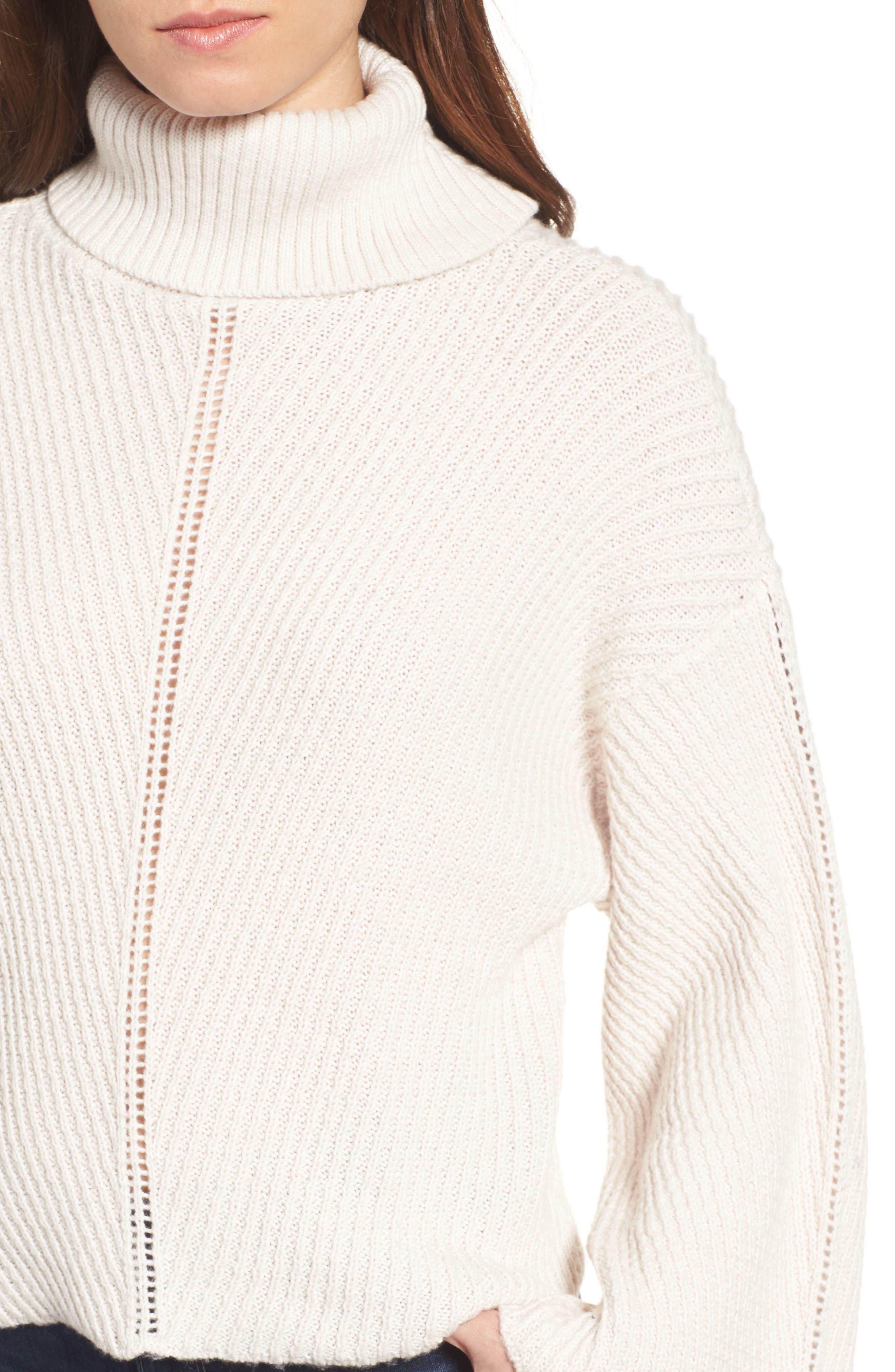 Randy Turtleneck Sweater,                             Alternate thumbnail 4, color,                             260