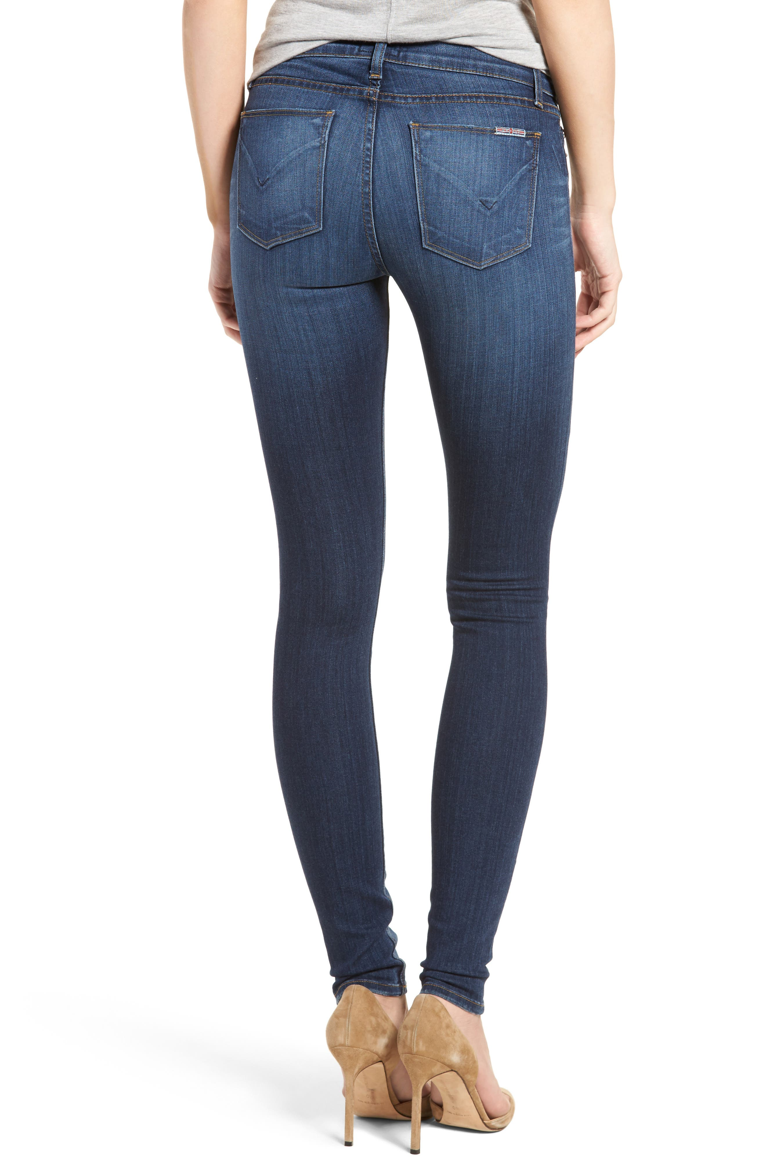 'Krista' Super Skinny Jeans,                             Alternate thumbnail 8, color,