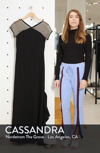 Swiss Dot & Crepe Gown, sales video thumbnail