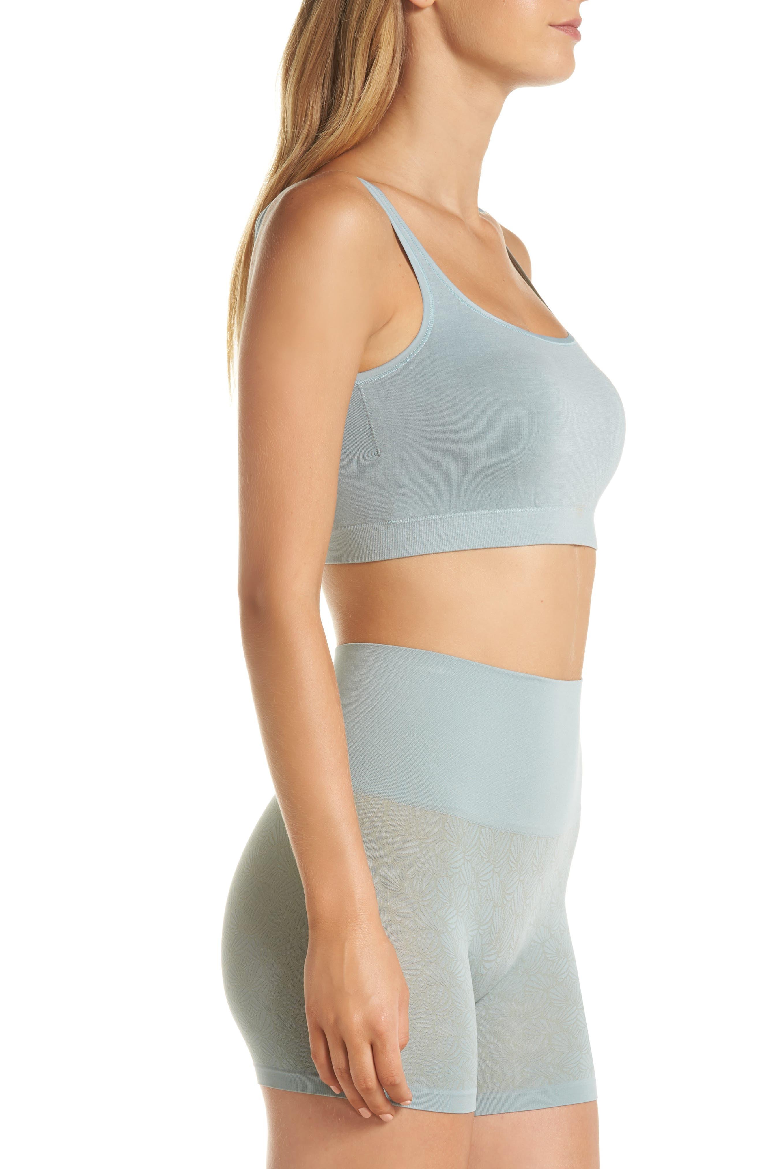Ultralight Seamless Shaping Shorts,                             Alternate thumbnail 9, color,                             SILVER BLUE