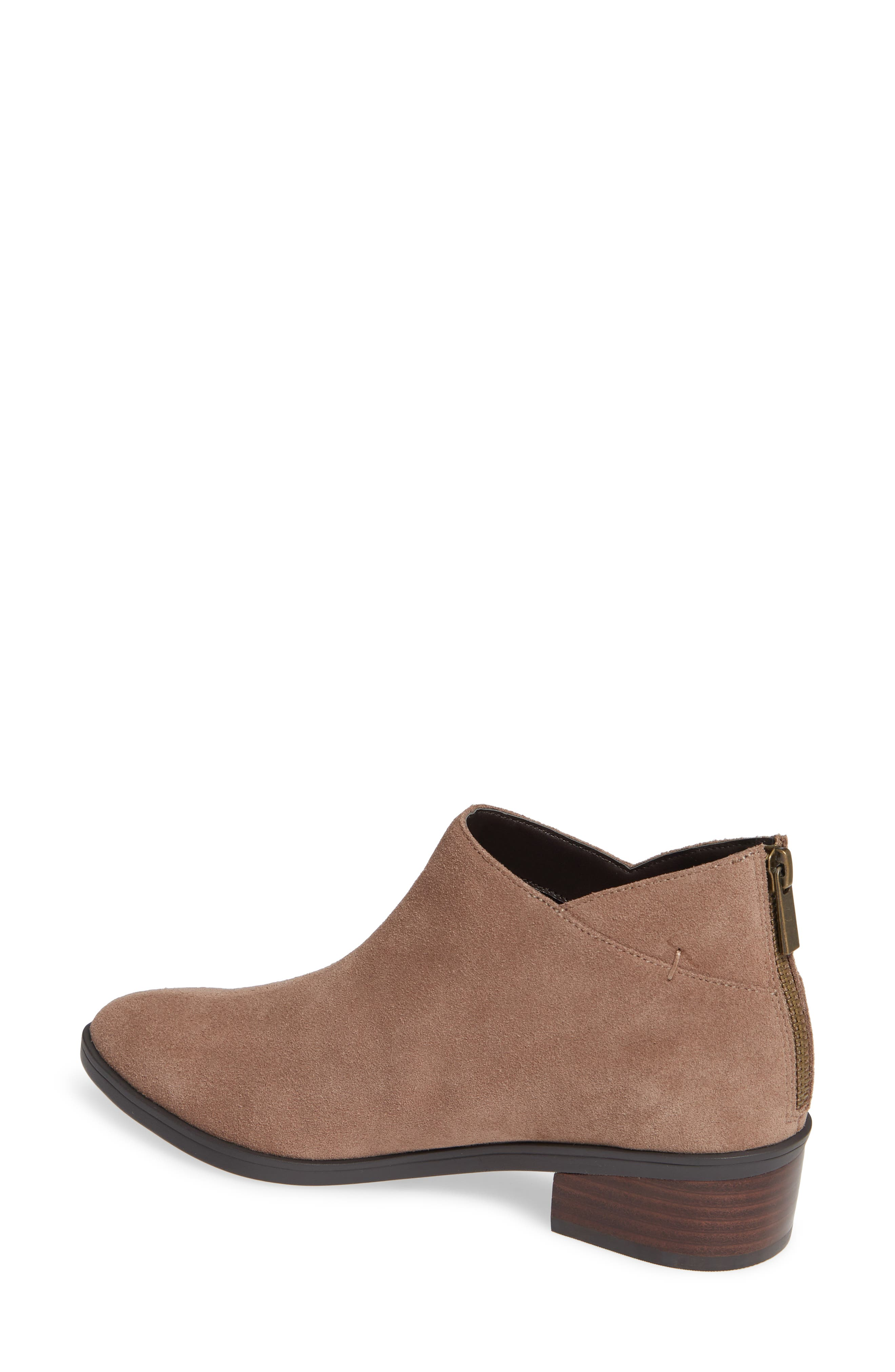Haven Ankle Bootie,                             Alternate thumbnail 2, color,                             ALMOND SUEDE