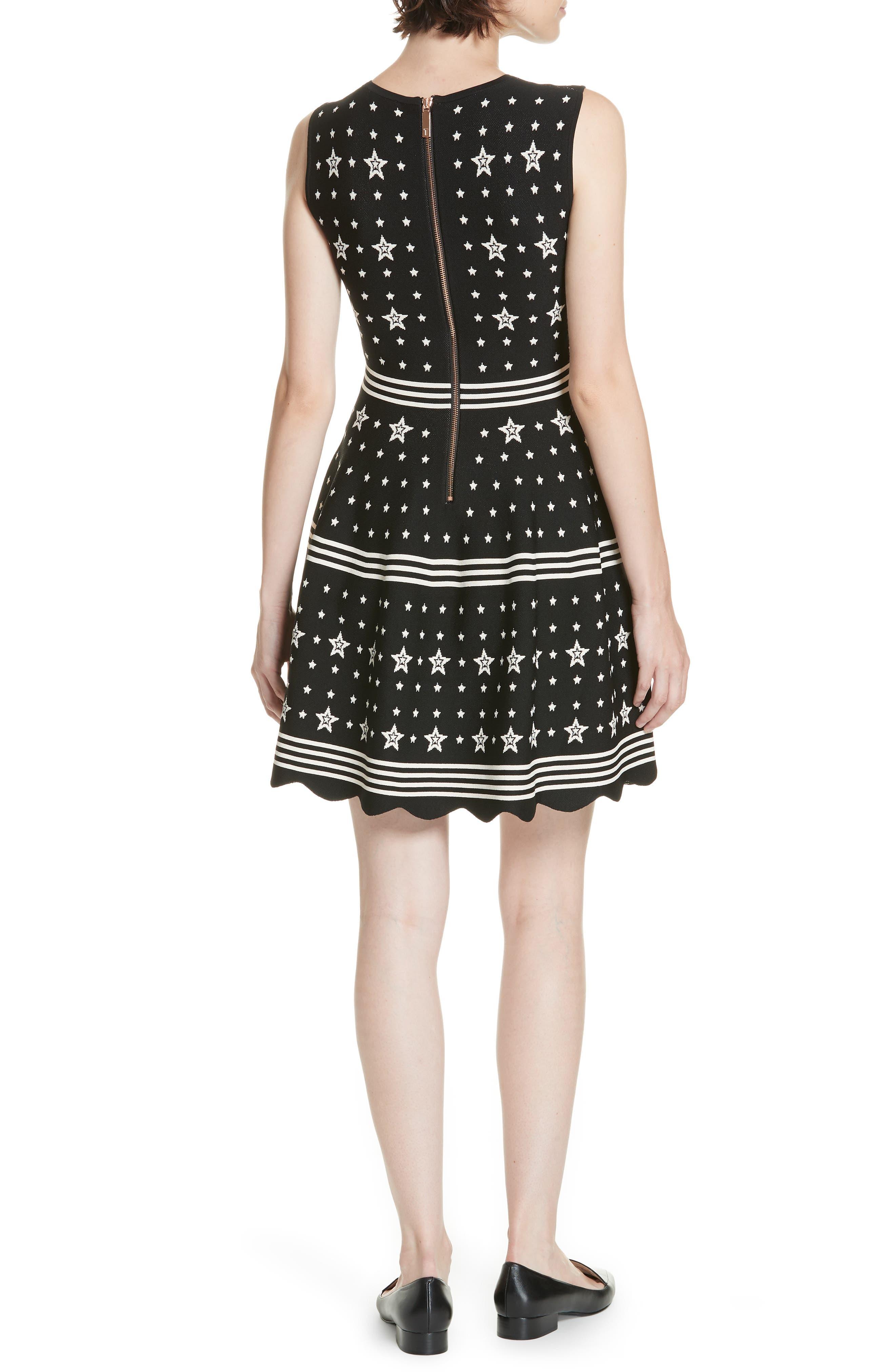Mariae Star Dress,                             Alternate thumbnail 2, color,                             001