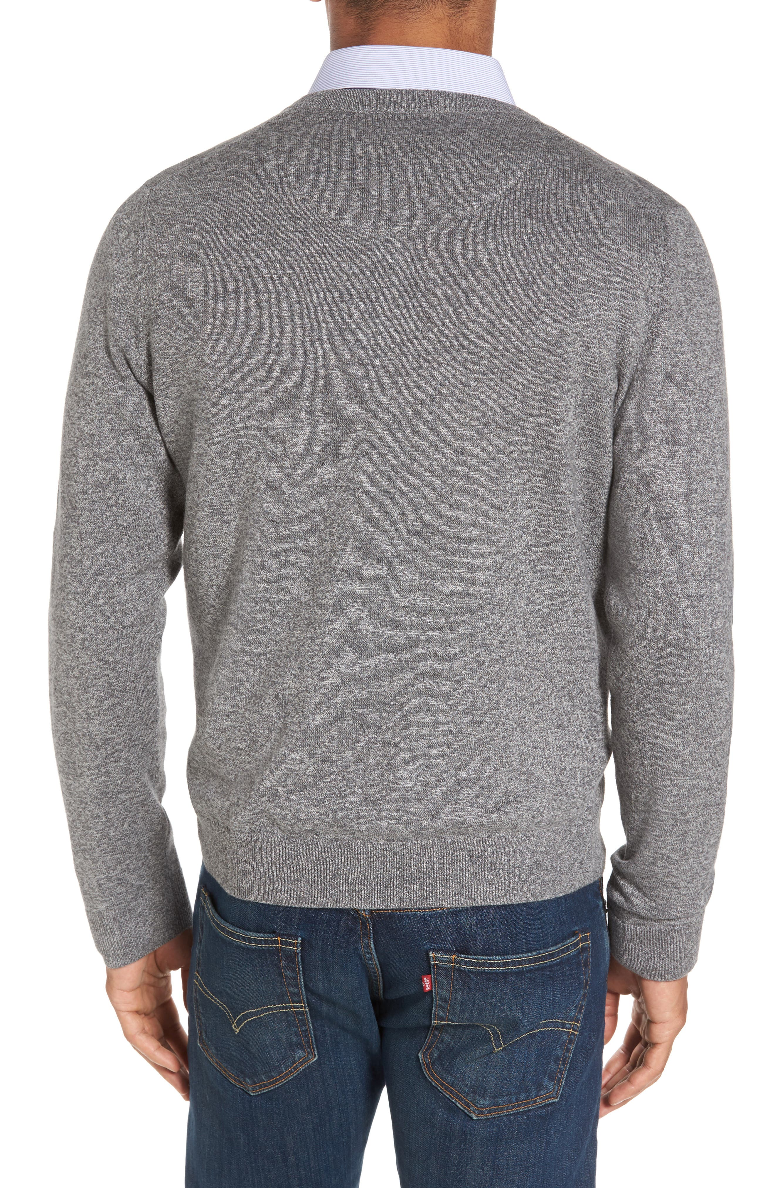 V-Neck Sweater,                             Alternate thumbnail 2, color,                             032