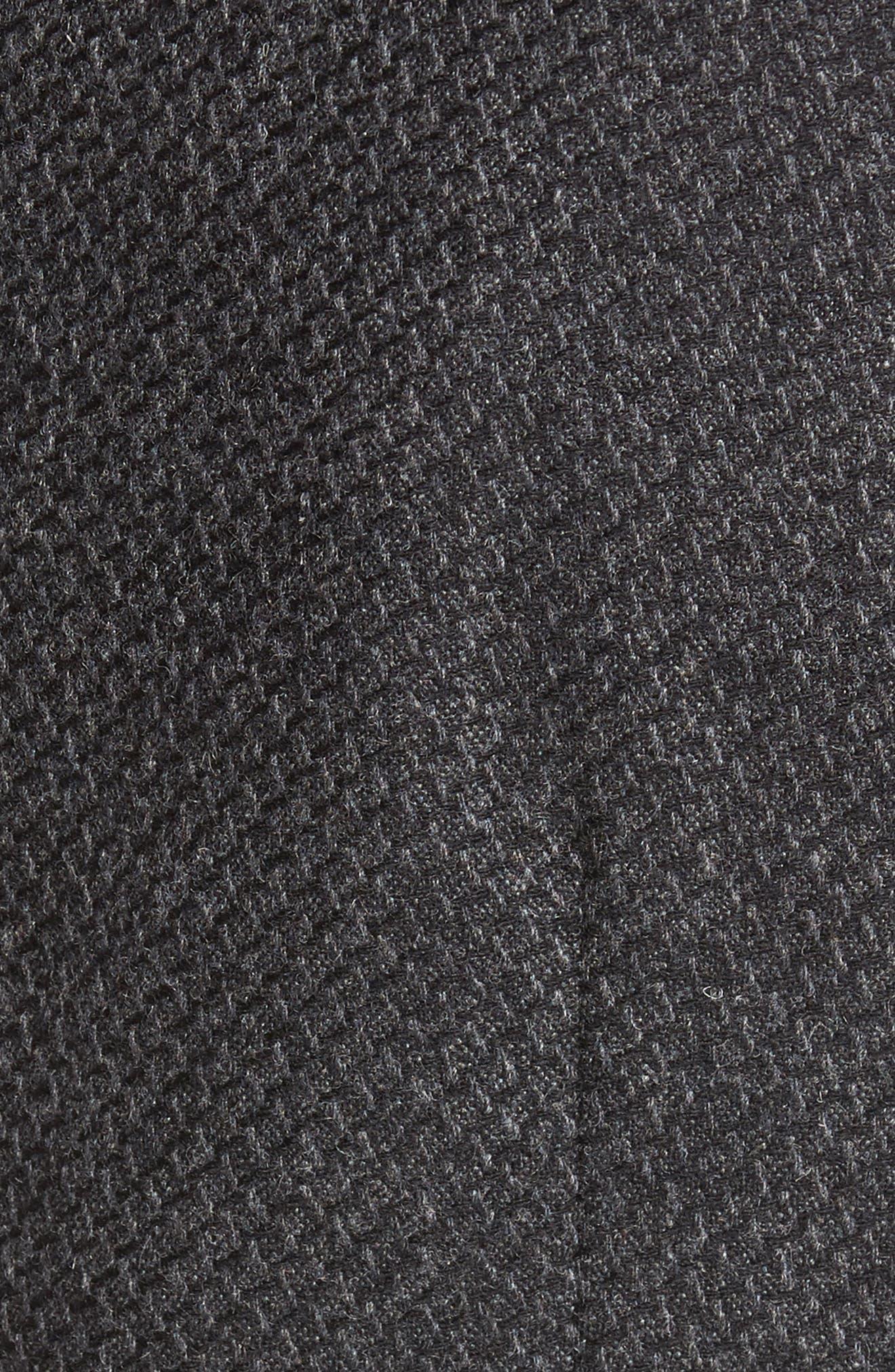 Textured Wool Blend Vest,                             Alternate thumbnail 6, color,                             020