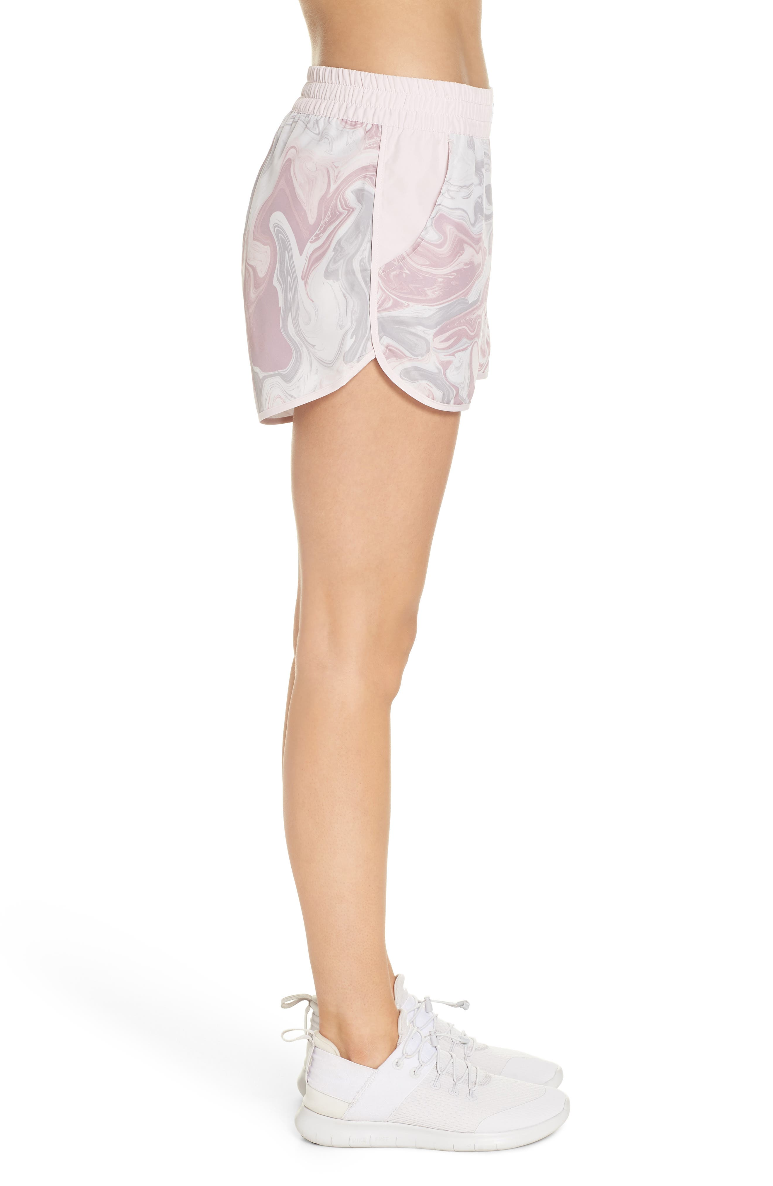 Sportswear Woven Shorts,                             Alternate thumbnail 3, color,                             ELEMENTAL ROSE/ BARELY ROSE