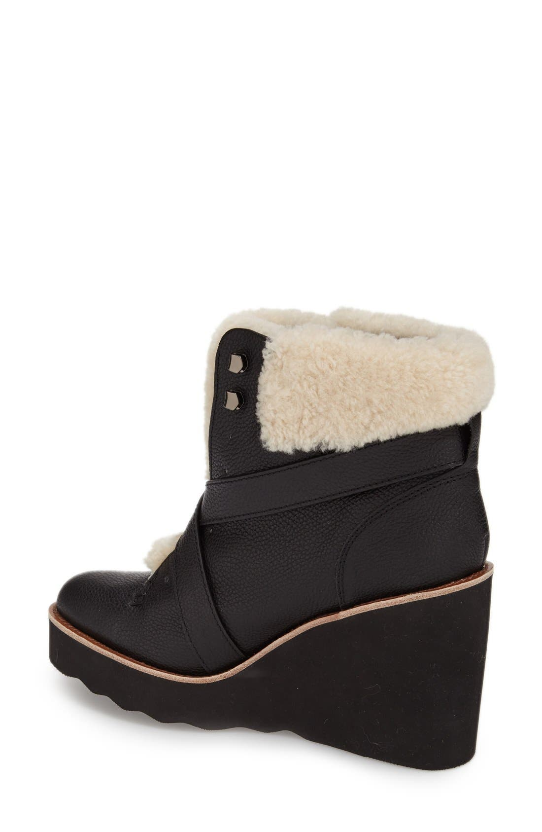 'Kenna' Wedge Bootie,                             Alternate thumbnail 2, color,                             001