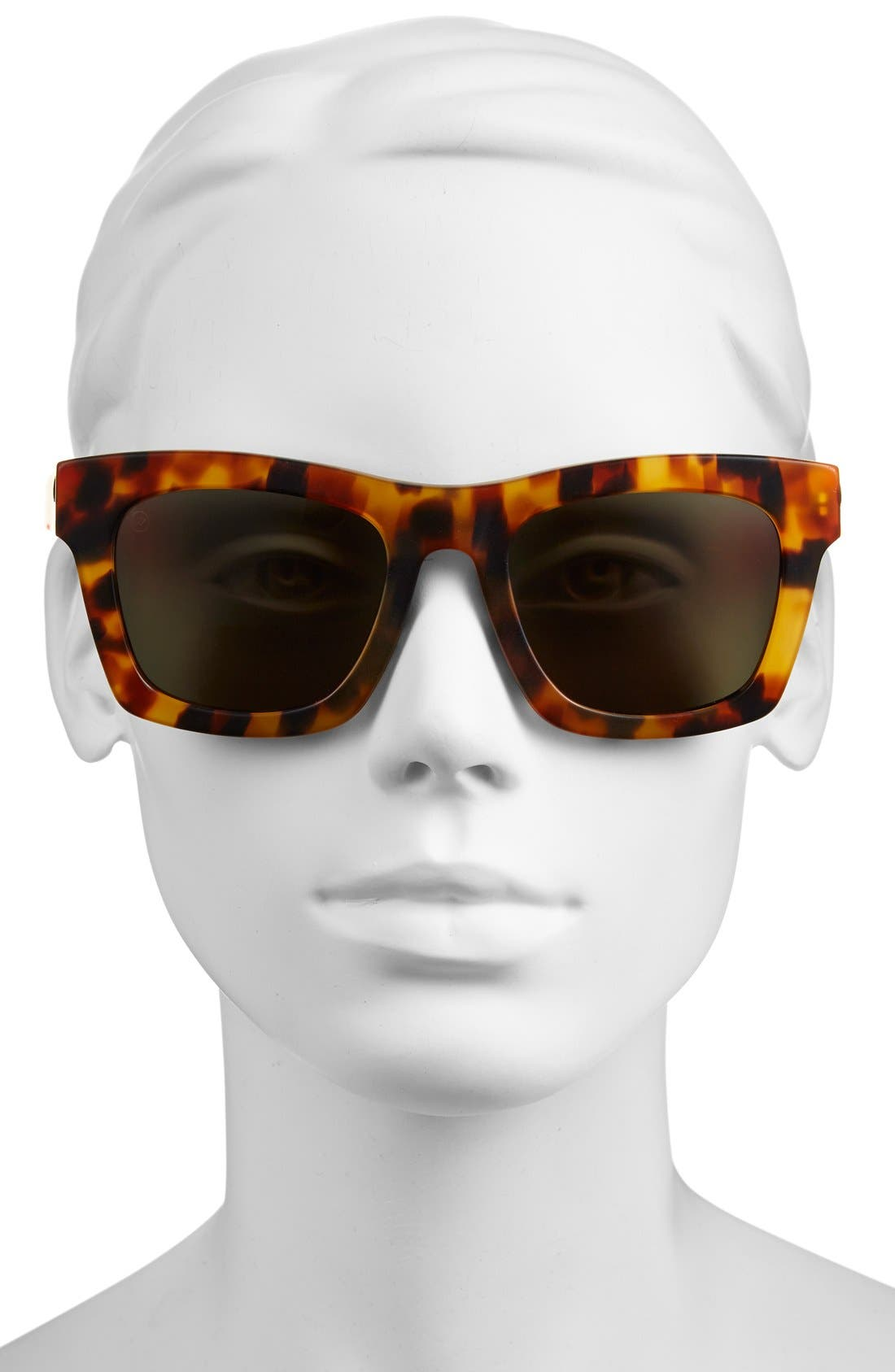 'Crasher' 53mm Retro Sunglasses,                             Alternate thumbnail 15, color,
