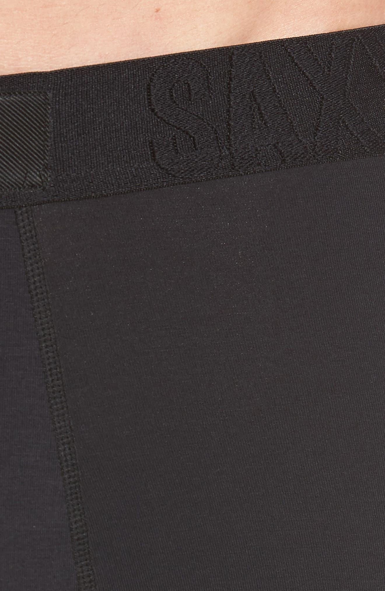 Undercover Boxer Briefs,                             Alternate thumbnail 4, color,                             BLACK