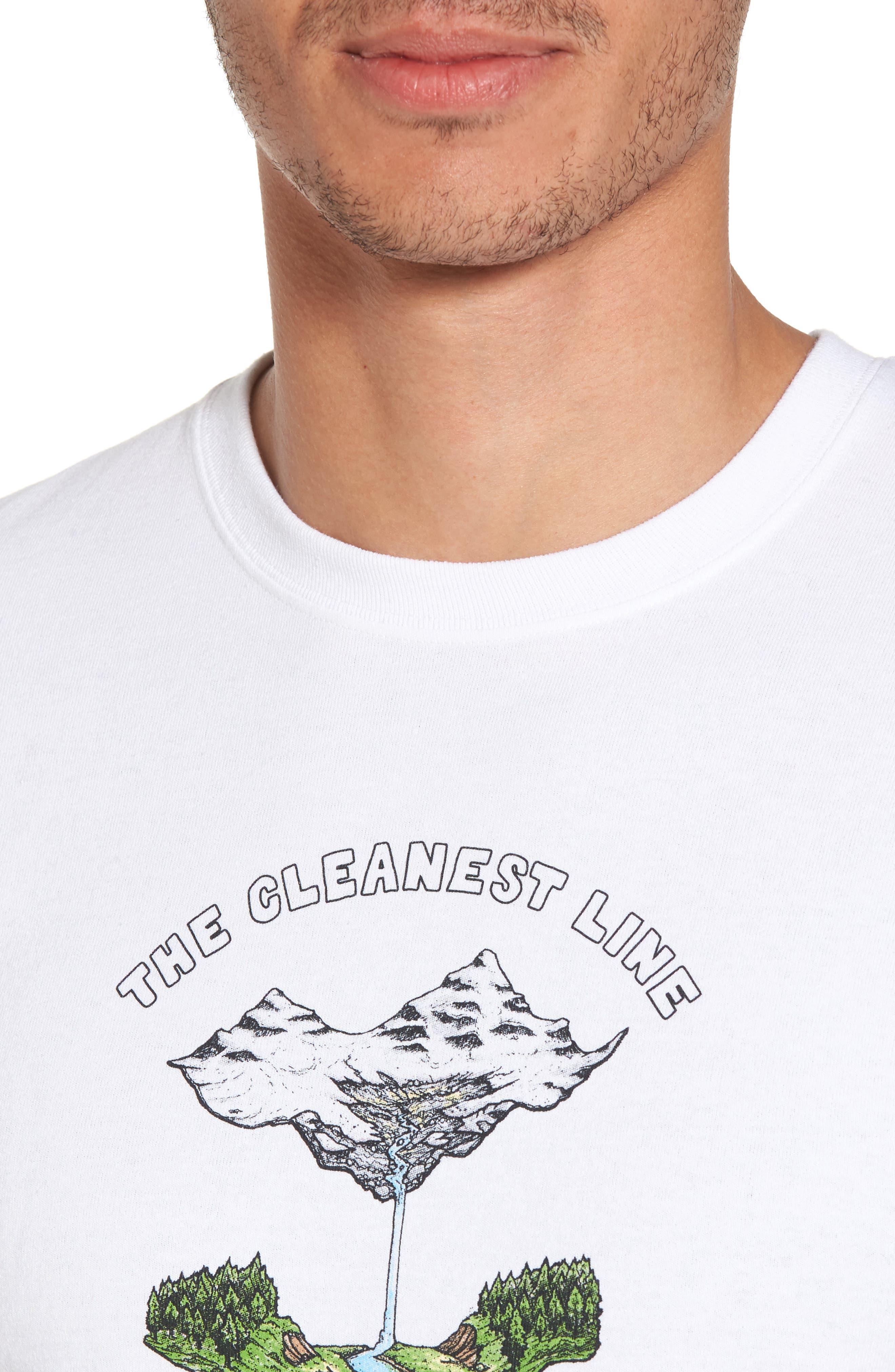 Glacier Born Responsibili-Tee T-Shirt,                             Alternate thumbnail 4, color,                             100